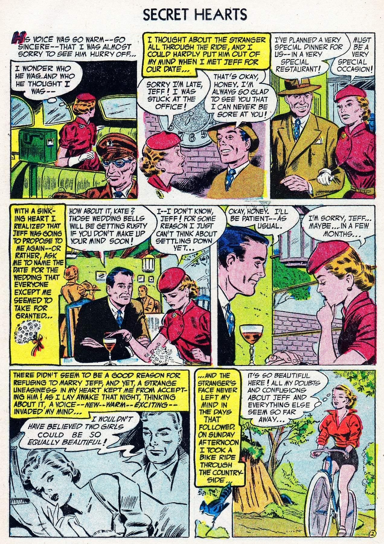 Read online Secret Hearts comic -  Issue #16 - 12