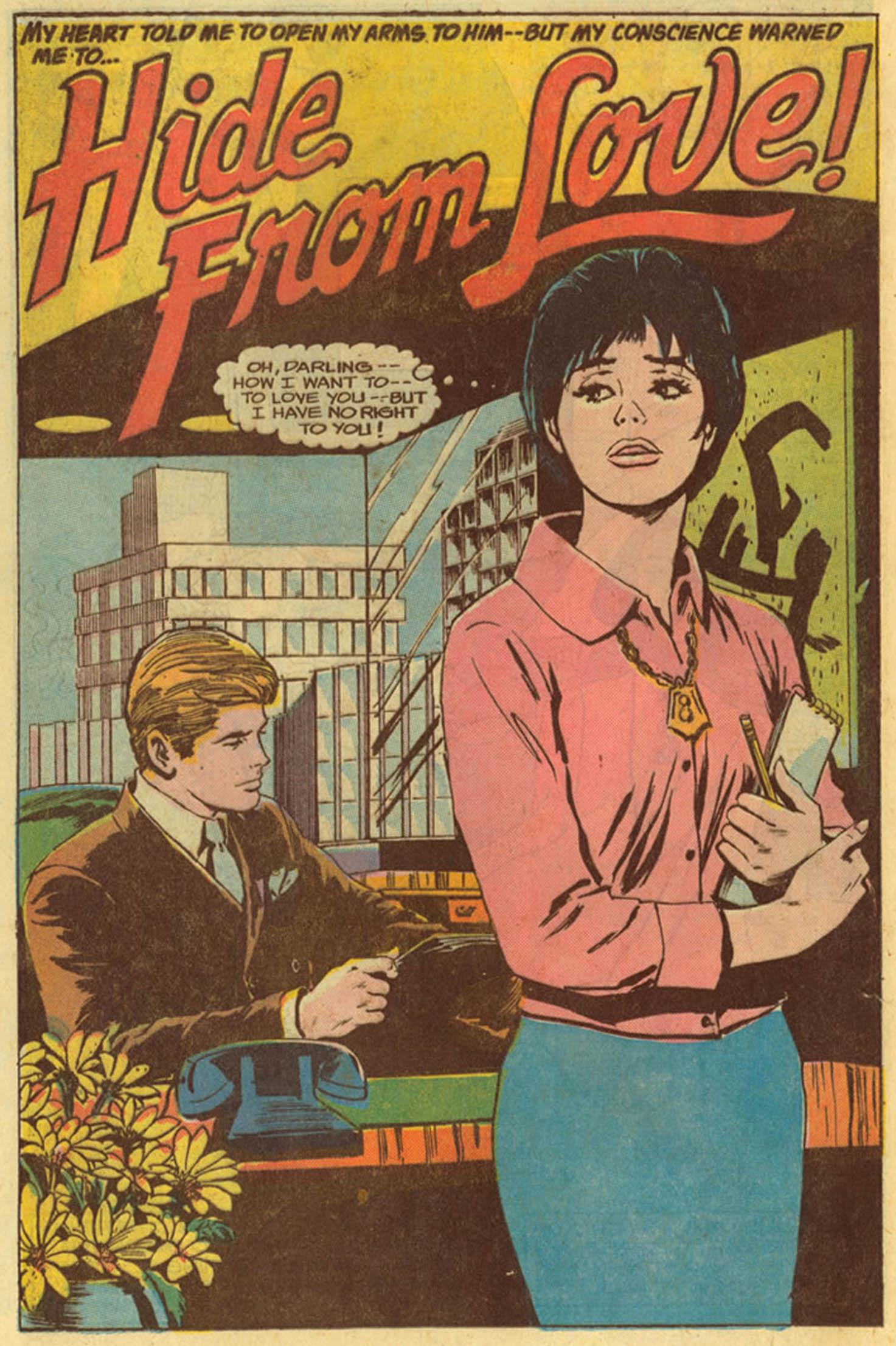 Read online Secret Hearts comic -  Issue #139 - 20