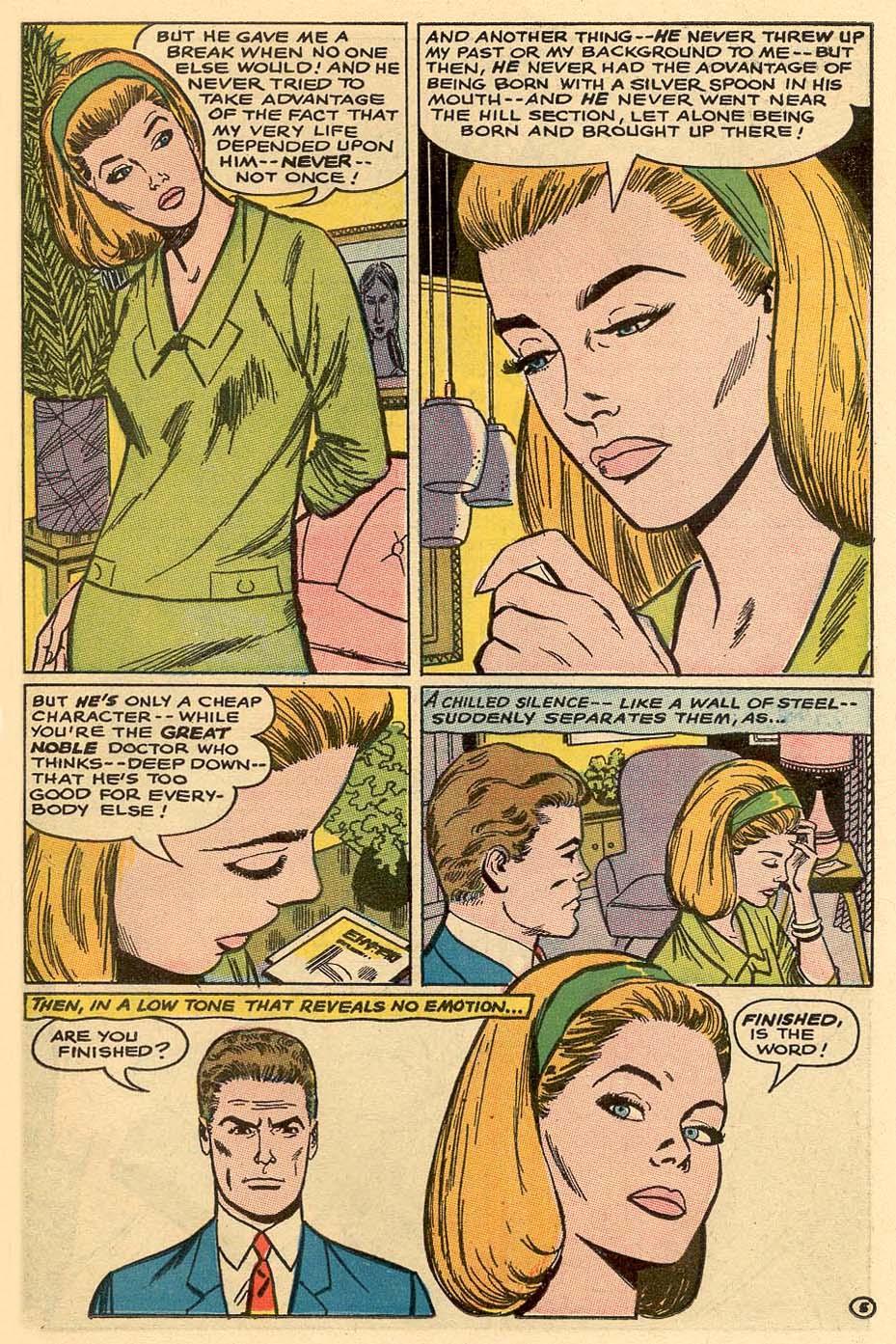 Read online Secret Hearts comic -  Issue #122 - 22