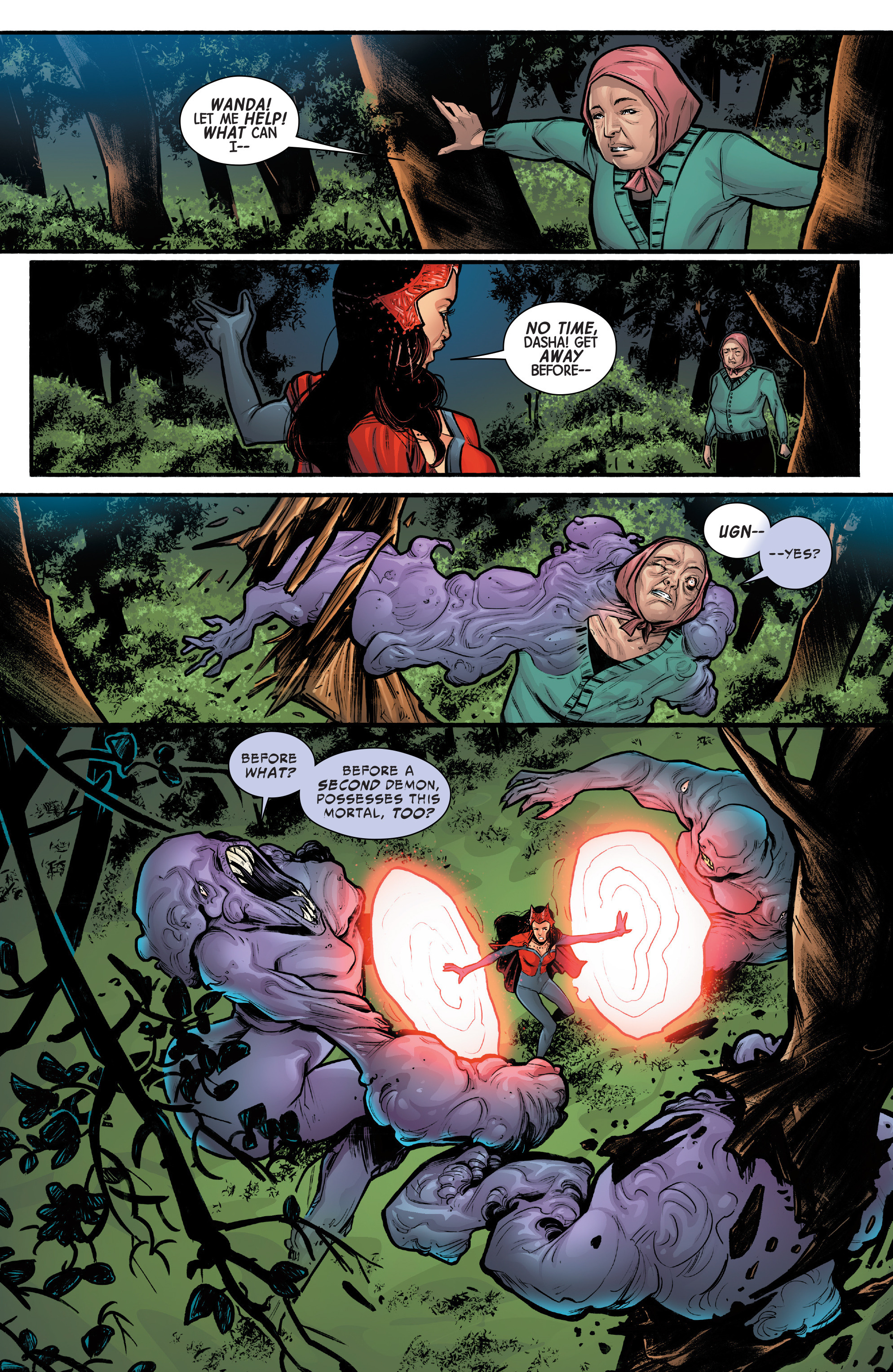 Read online Scarlet Witch (2016) comic -  Issue #12 - 14