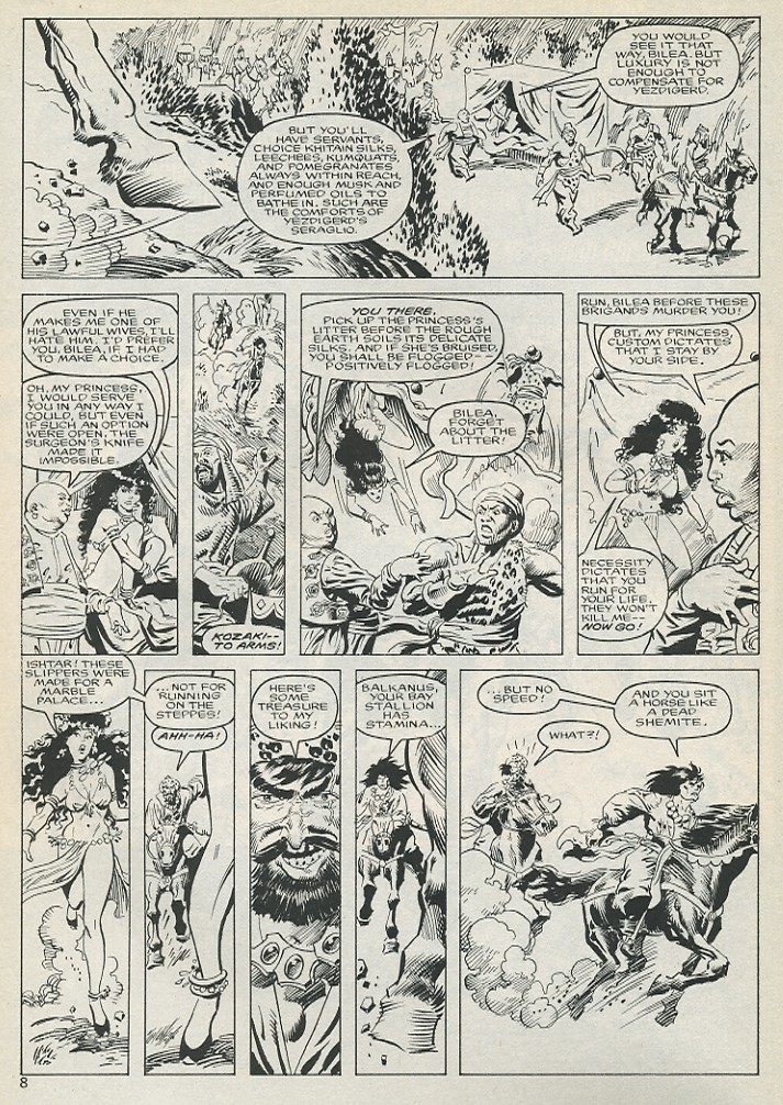 The Savage Sword Of Conan Issue #131 #132 - English 8