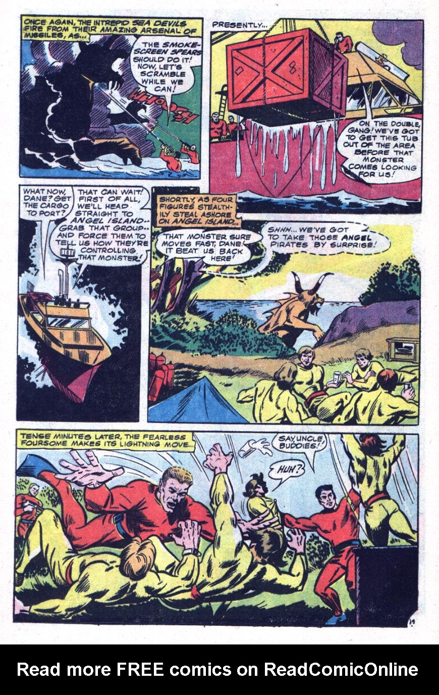 Read online Sea Devils comic -  Issue #34 - 21