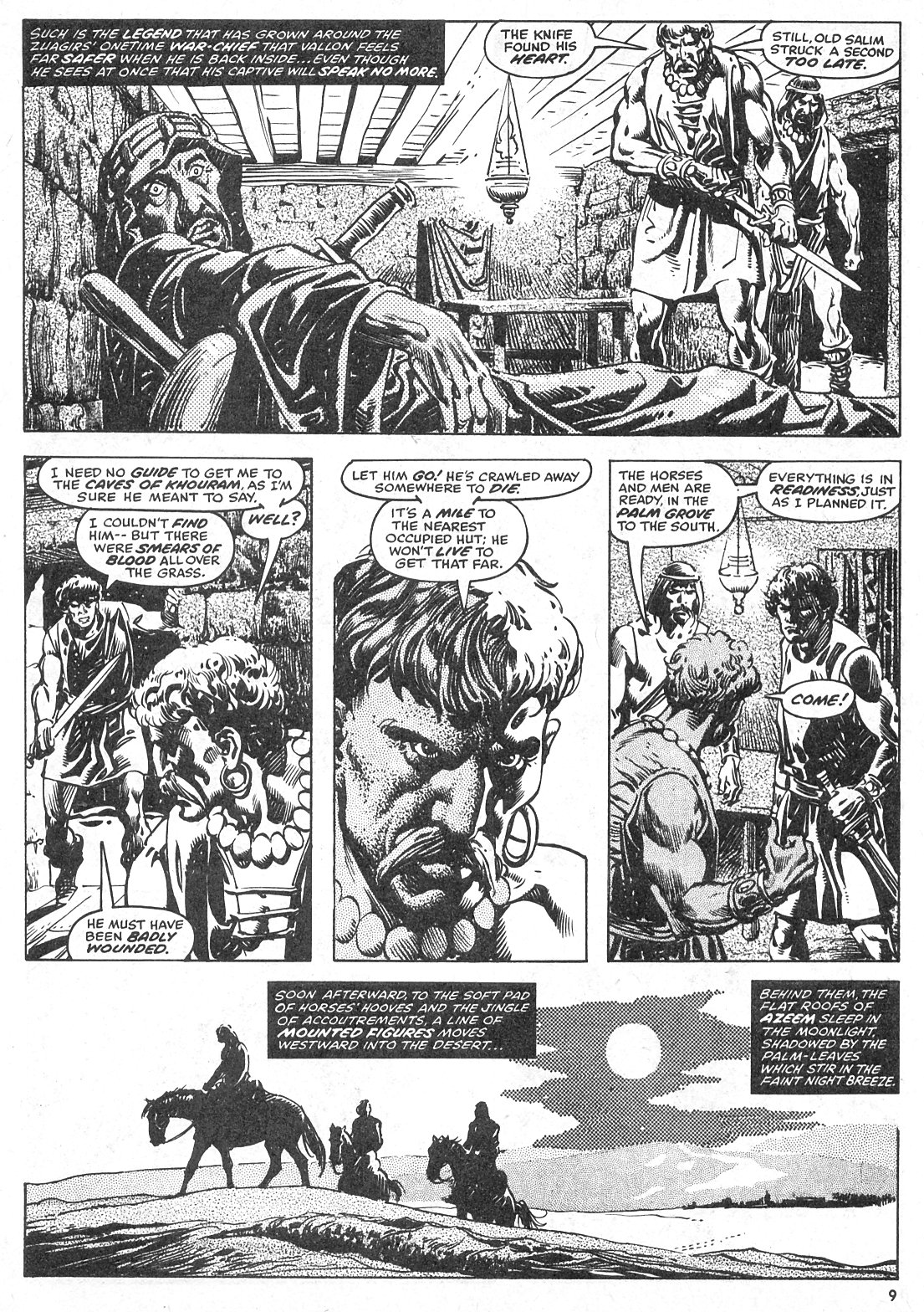 The Savage Sword Of Conan Issue #28 #29 - English 9
