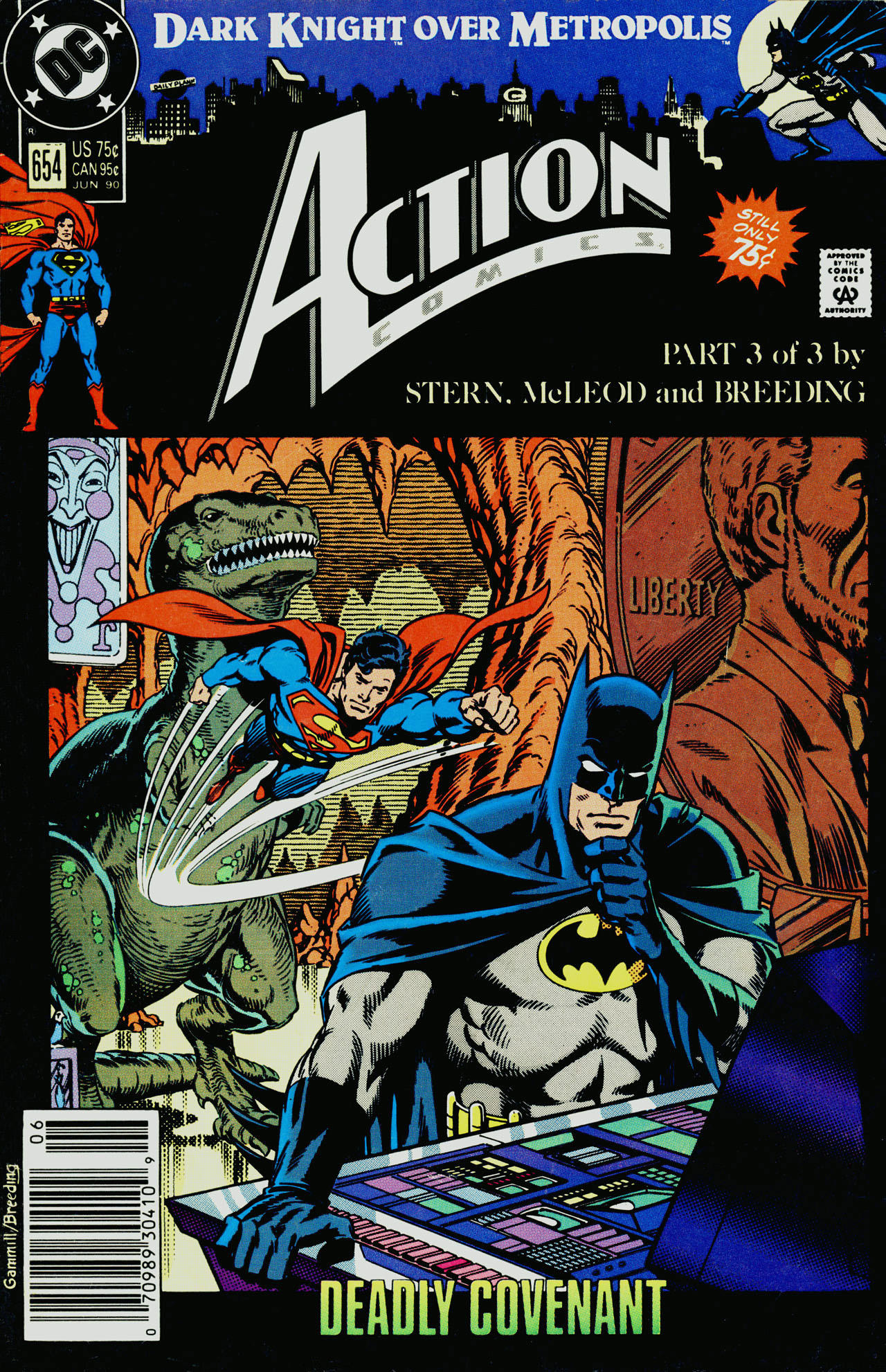 Action Comics (1938) 654 Page 1