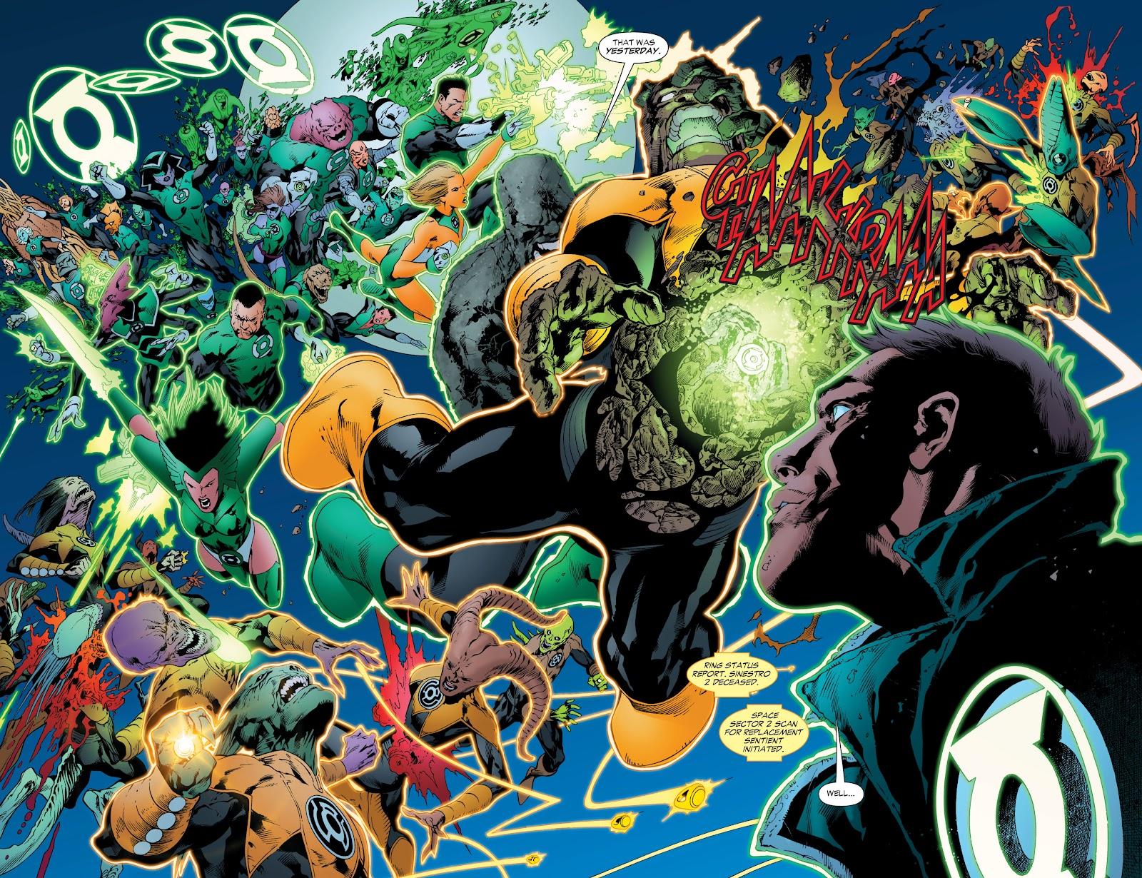 Green Lantern: The Sinestro Corps War Full #1 - English 192