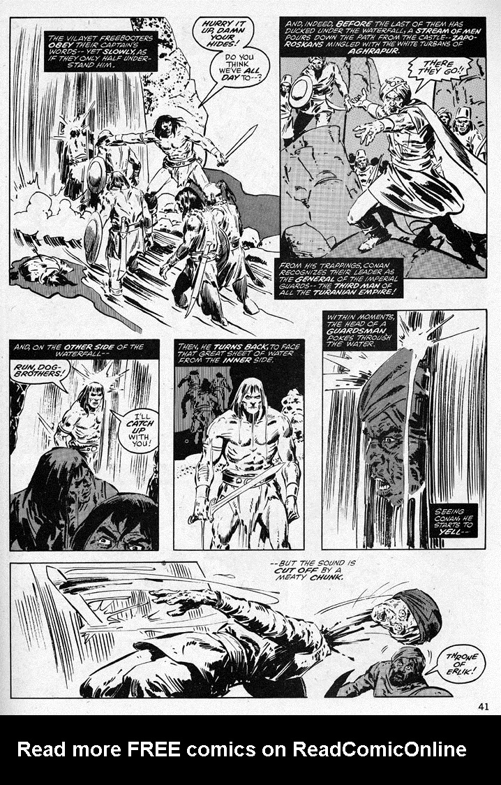 The Savage Sword Of Conan Issue #38 #39 - English 41