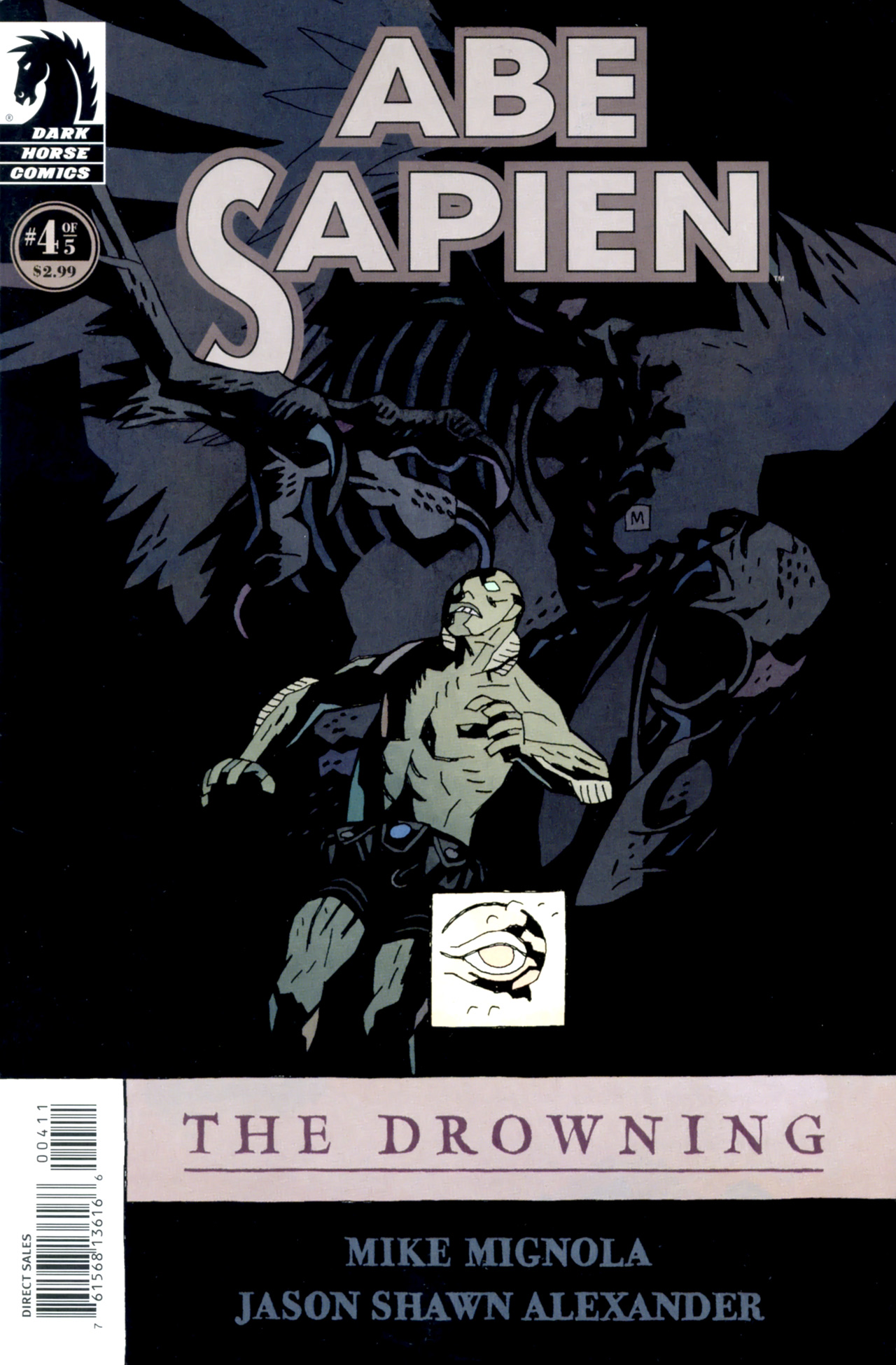Abe Sapien: The Drowning 4 Page 1