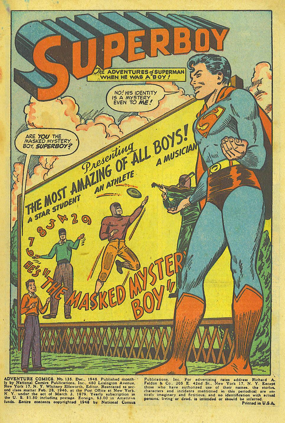 Read online Adventure Comics (1938) comic -  Issue #135 - 3