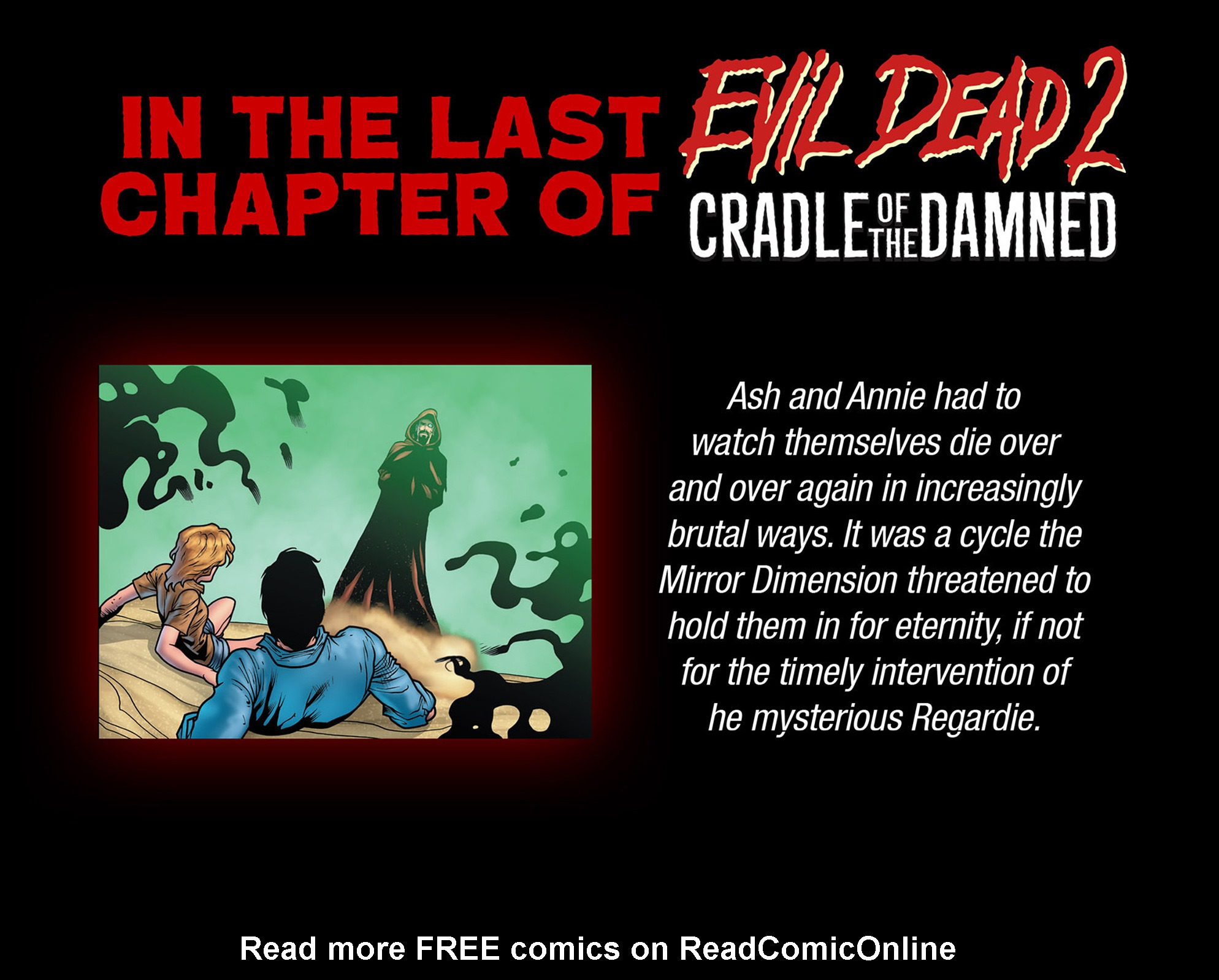 Read online Evil Dead 2: Cradle of the Damned comic -  Issue #4 - 3