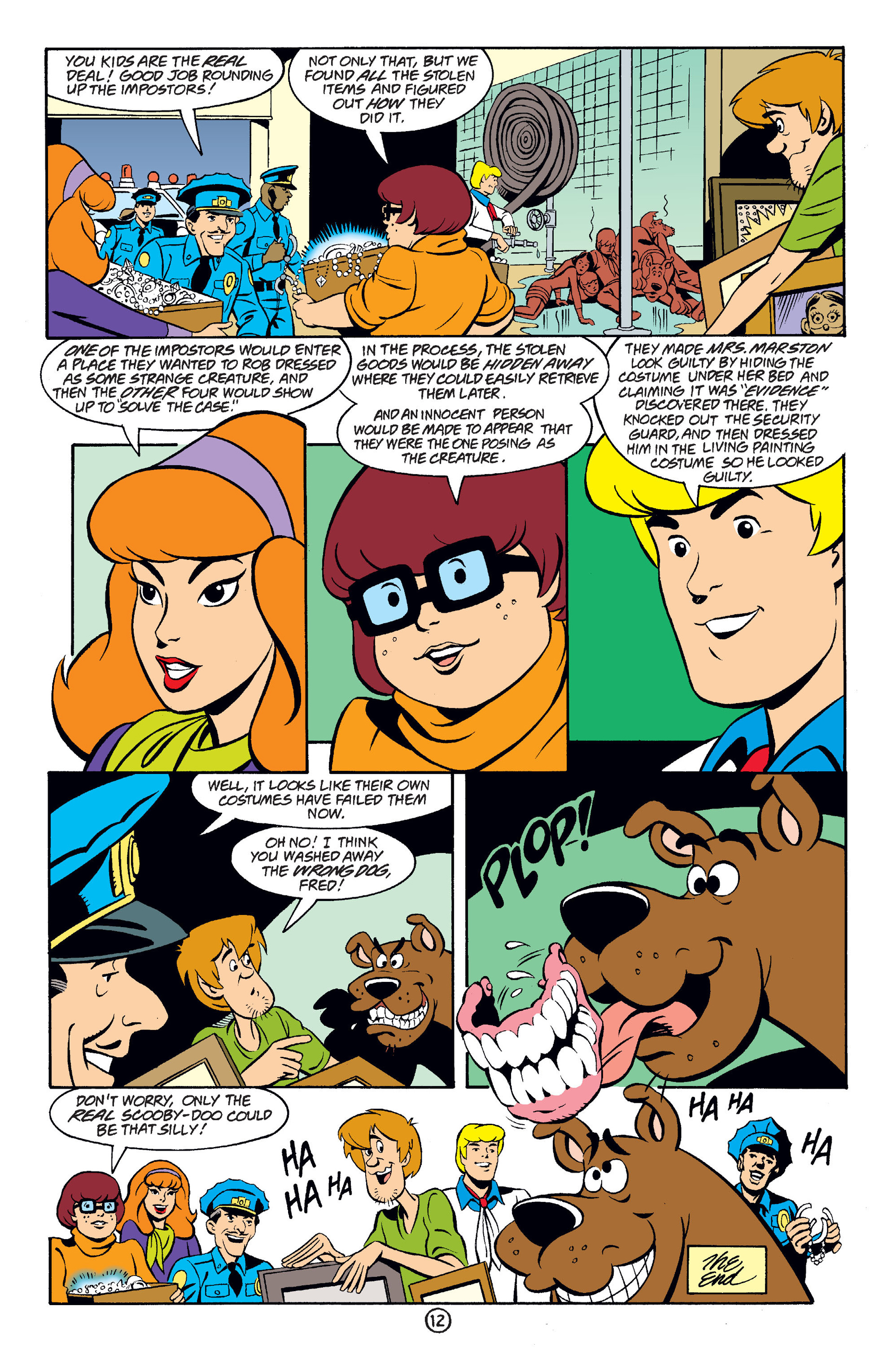 Read online Scooby-Doo (1997) comic -  Issue #36 - 13