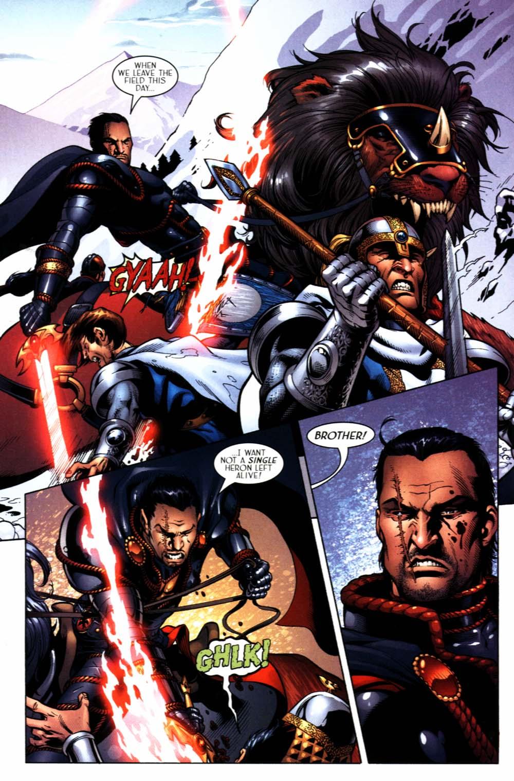 Read online Scion comic -  Issue #22 - 10