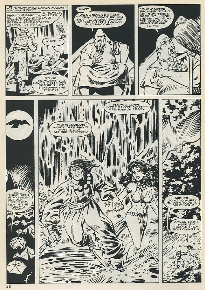 The Savage Sword Of Conan Issue #131 #132 - English 38