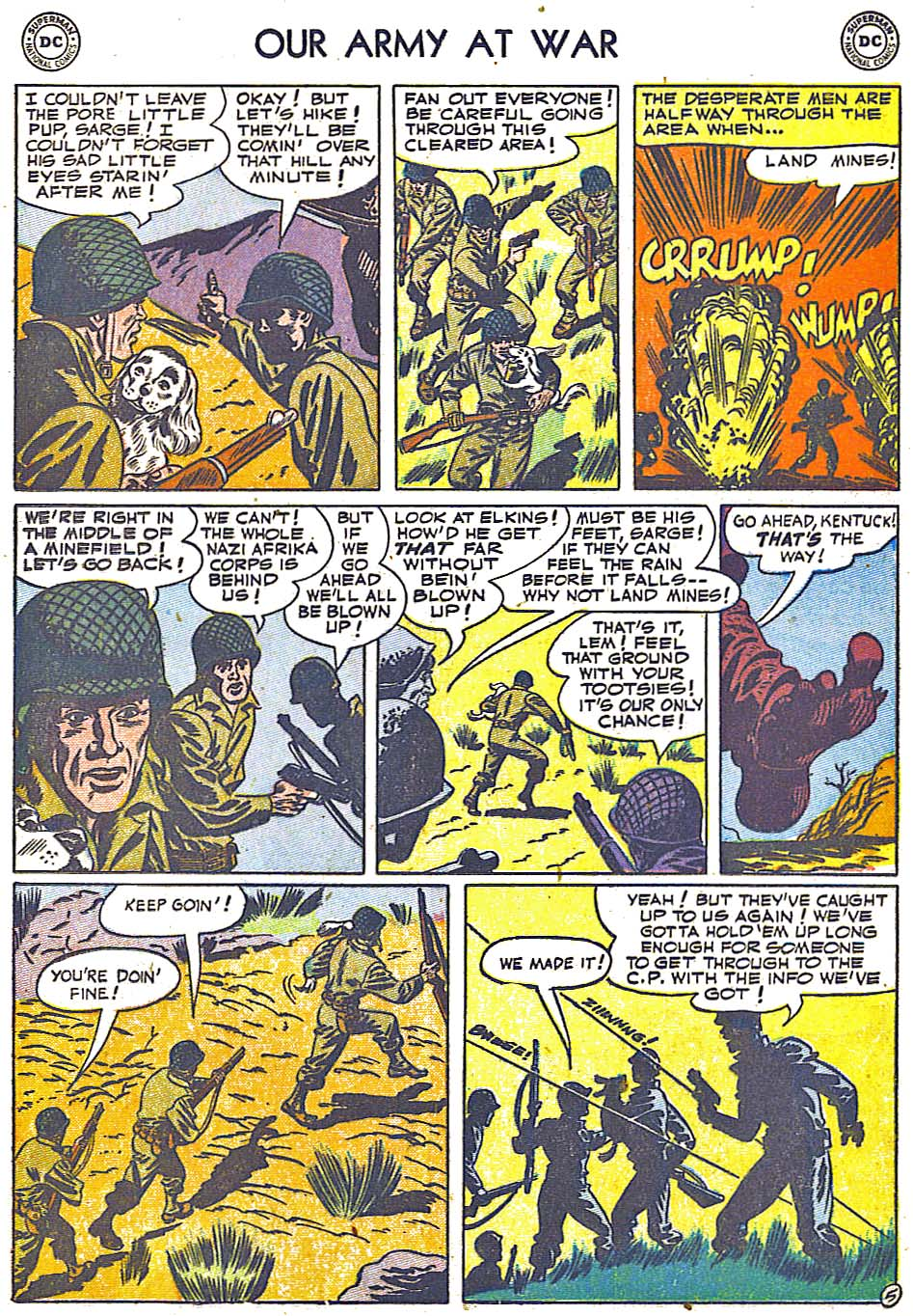 Our Army at War (1952) #1 #301 - English 25
