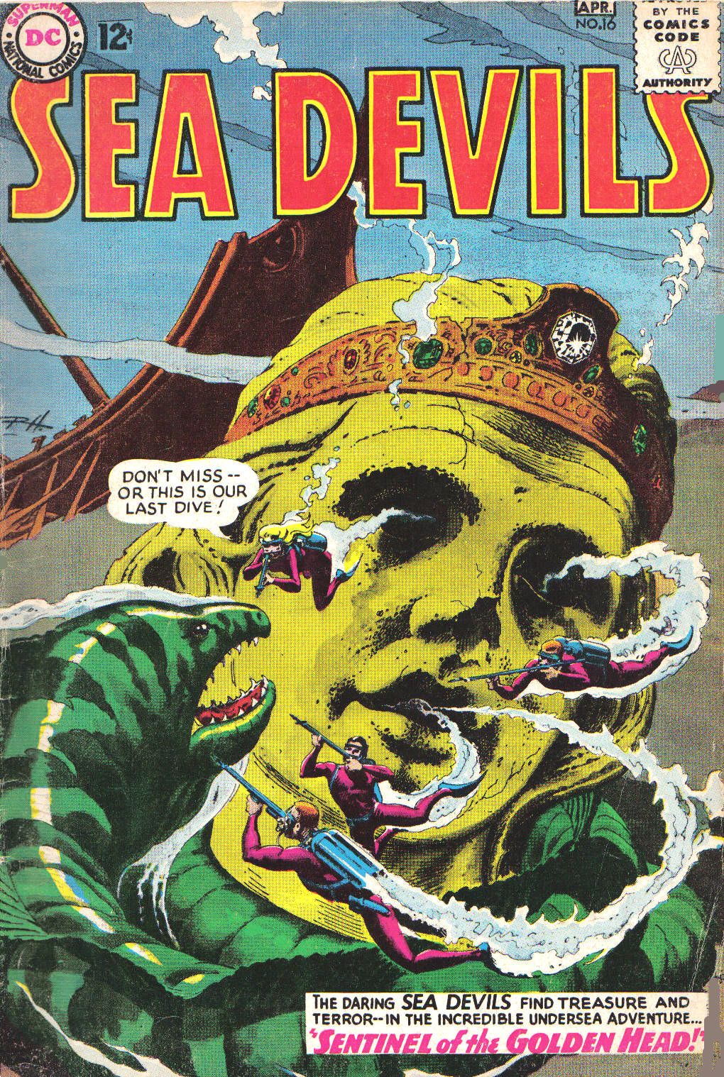 Read online Sea Devils comic -  Issue #16 - 1