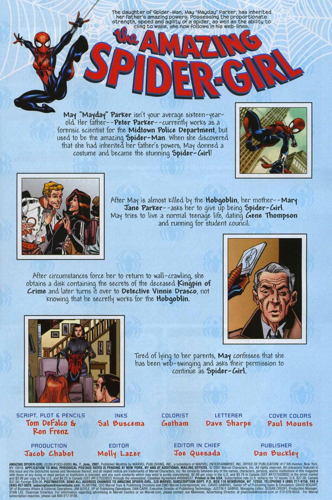 Amazing Spider-Girl Issue #7 #8 - English 5