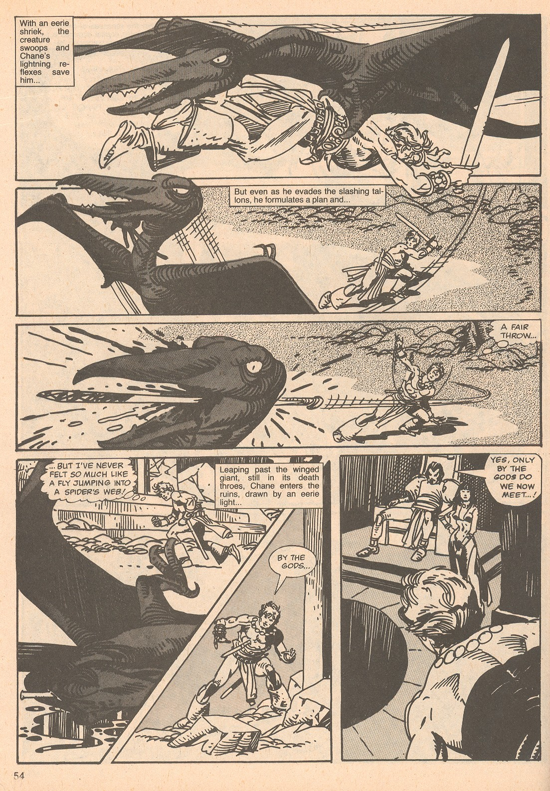 The Savage Sword Of Conan Issue #67 #68 - English 54
