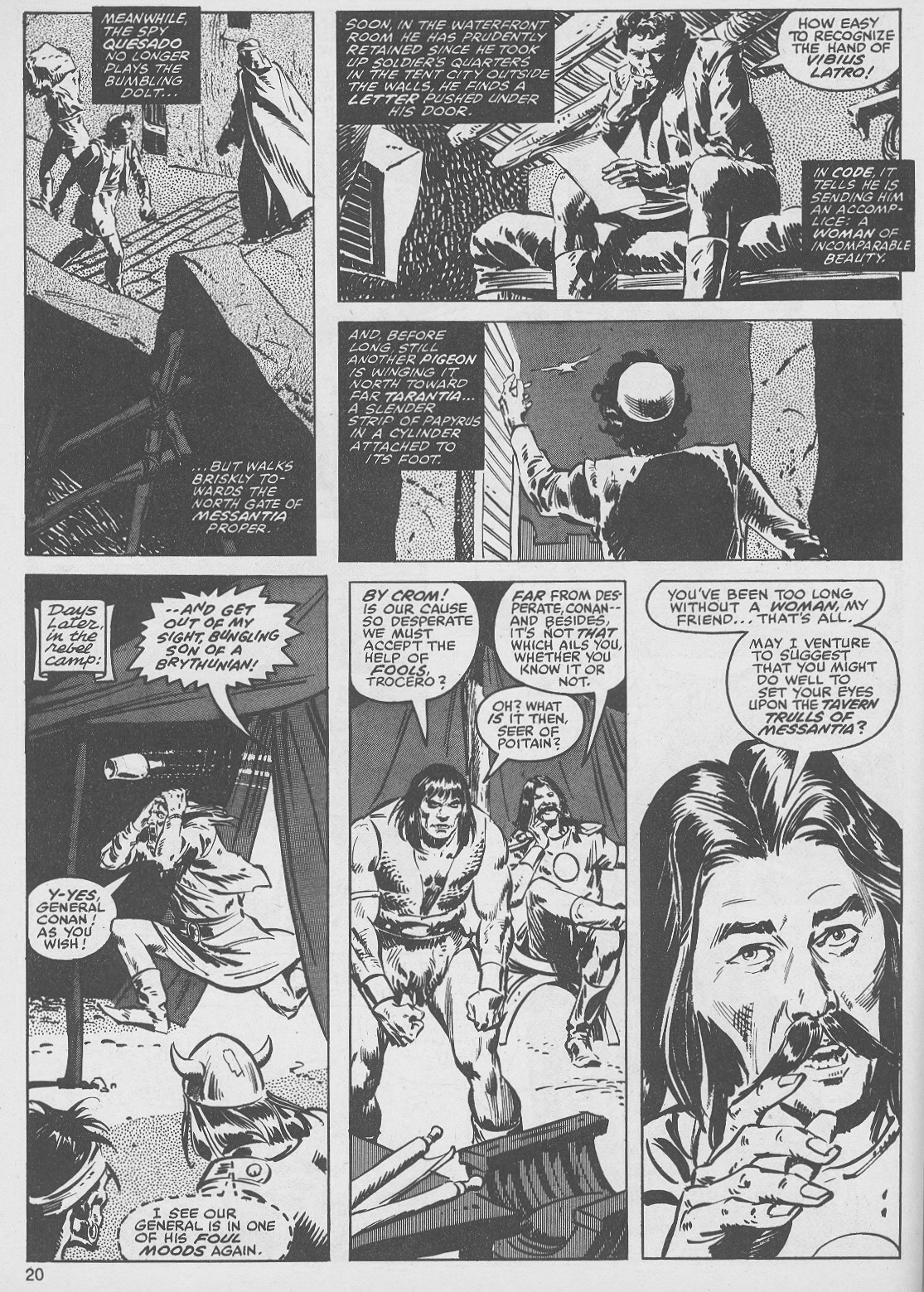 The Savage Sword Of Conan Issue #49 #50 - English 20