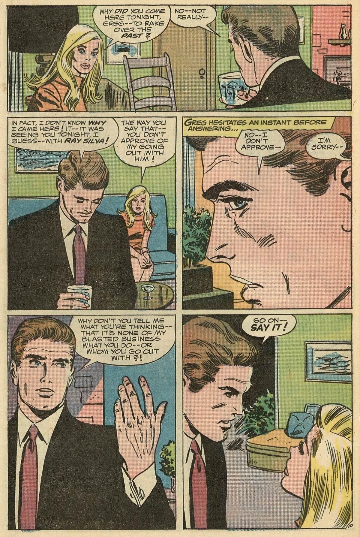 Read online Secret Hearts comic -  Issue #125 - 28