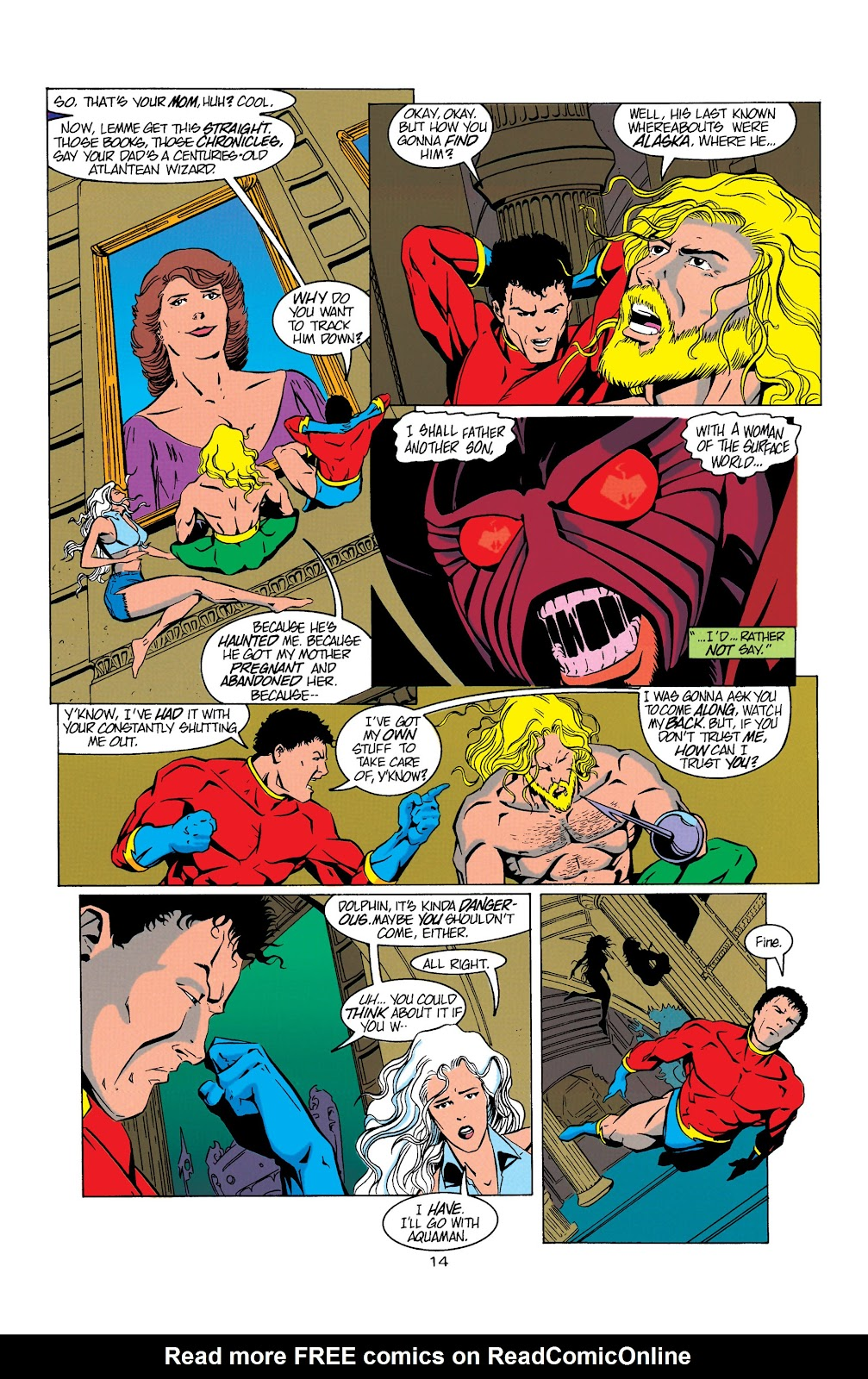 Aquaman (1994) Issue #5 #11 - English 15