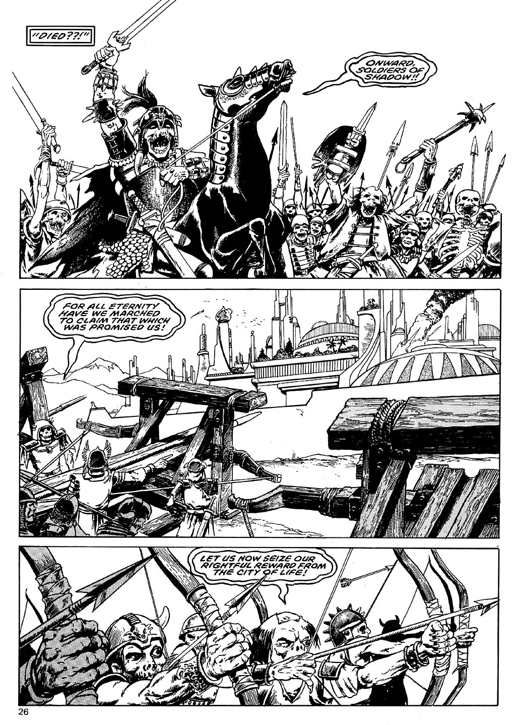 The Savage Sword Of Conan Issue #110 #111 - English 25