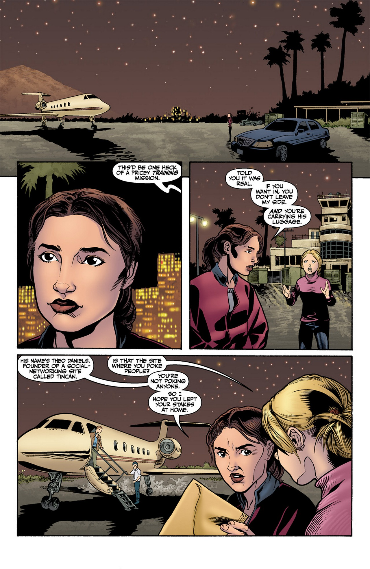 Read online Buffy the Vampire Slayer Season Nine comic -  Issue #11 - 23