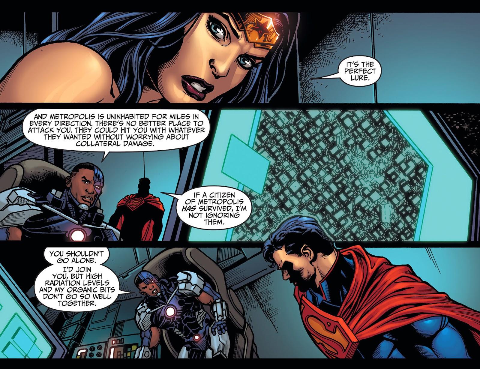 Injustice: Gods Among Us [I] Issue #20 #21 - English 9