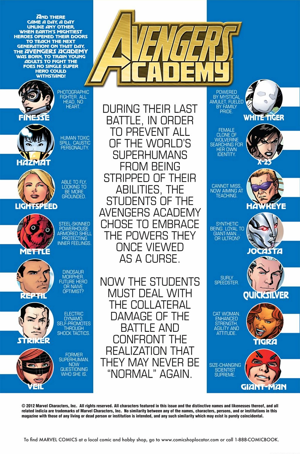 Avengers Academy Issue #39 #40 - English 2