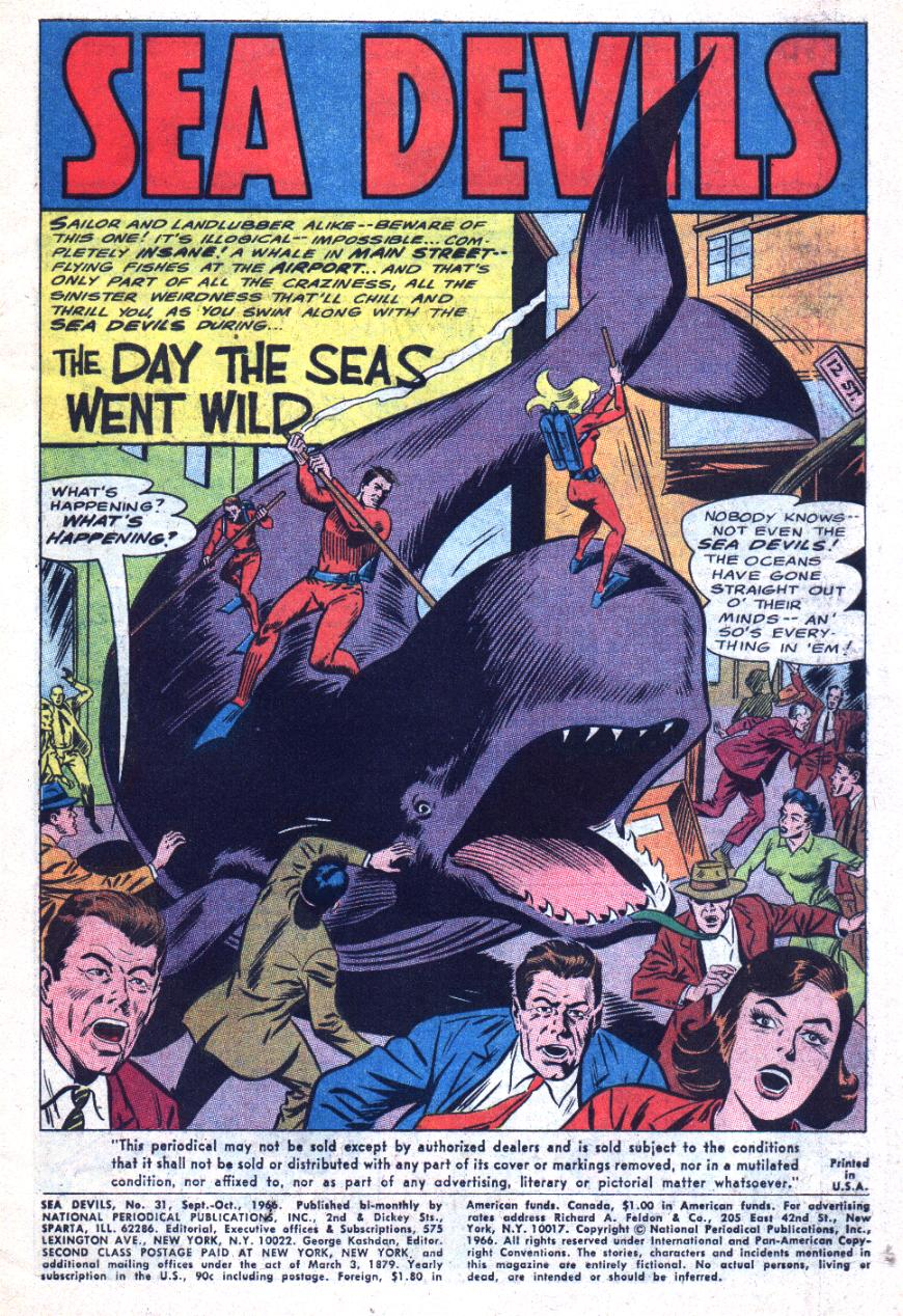 Read online Sea Devils comic -  Issue #31 - 4