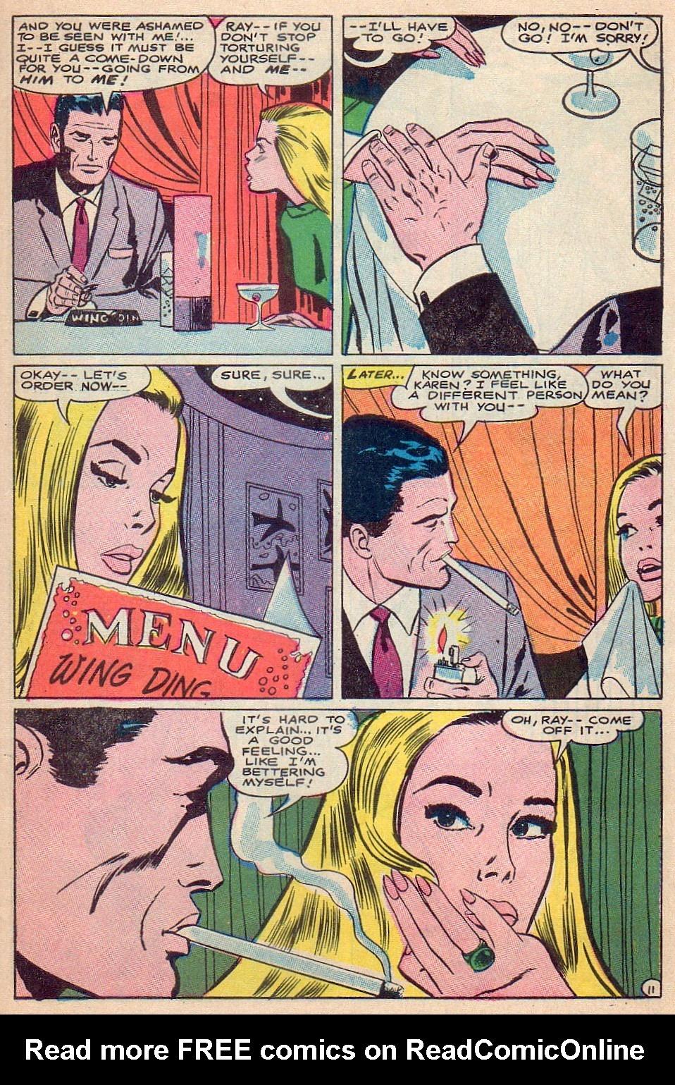 Read online Secret Hearts comic -  Issue #124 - 27