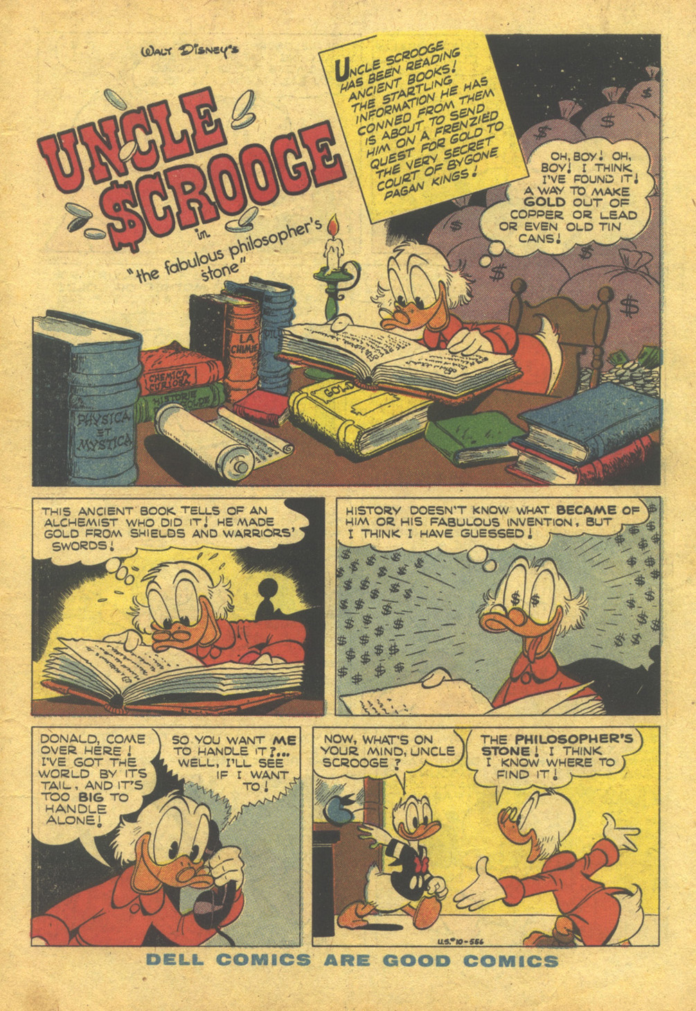 Uncle Scrooge (1953) #10 #395 - English 3