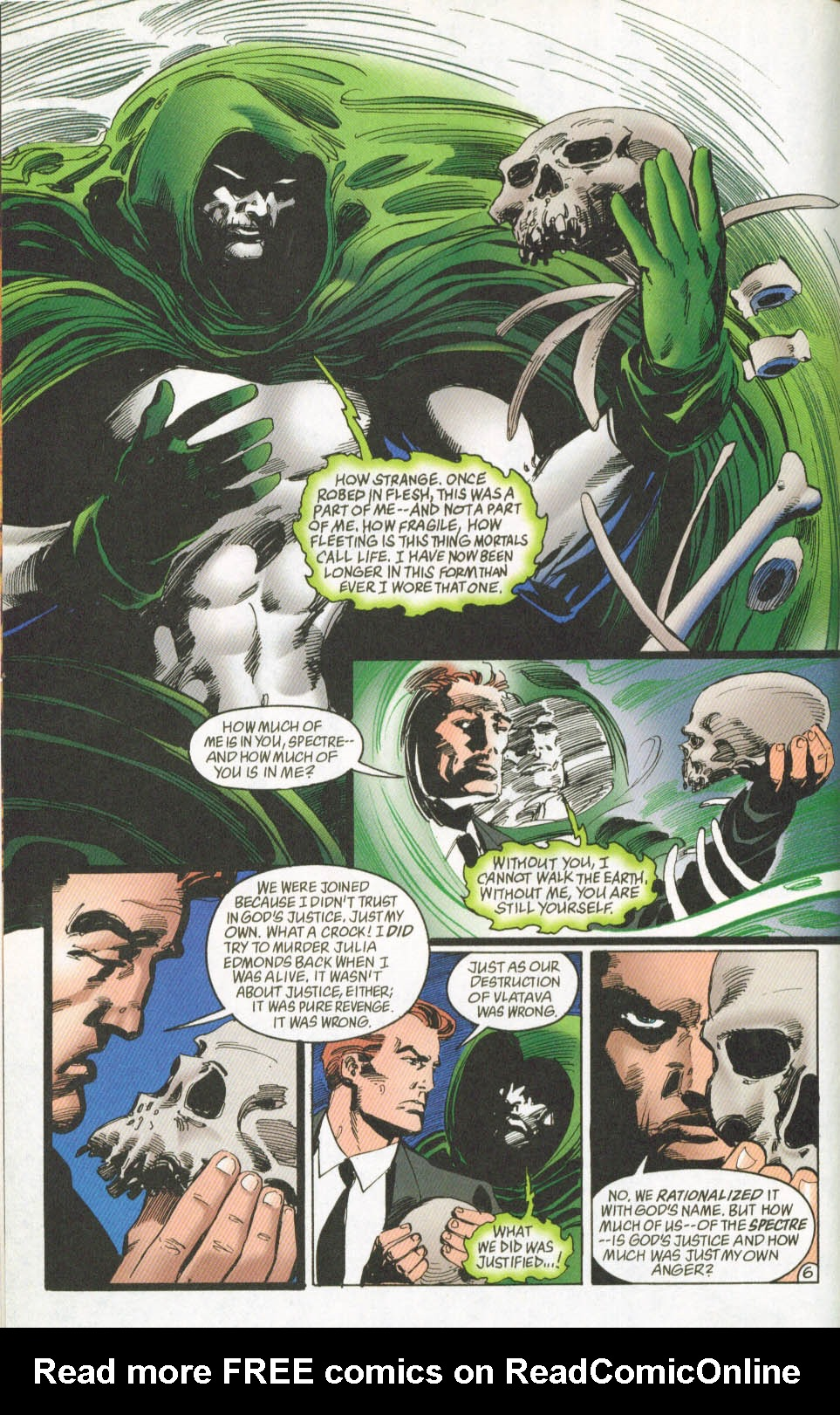 The Spectre (1992) #62 #64 - English 7