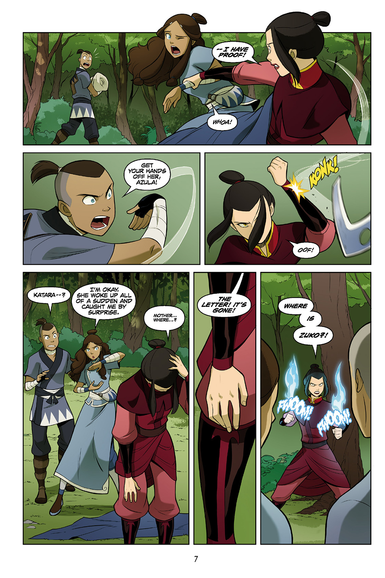 Read online Nickelodeon Avatar: The Last Airbender - The Search comic -  Issue # Part 2 - 8