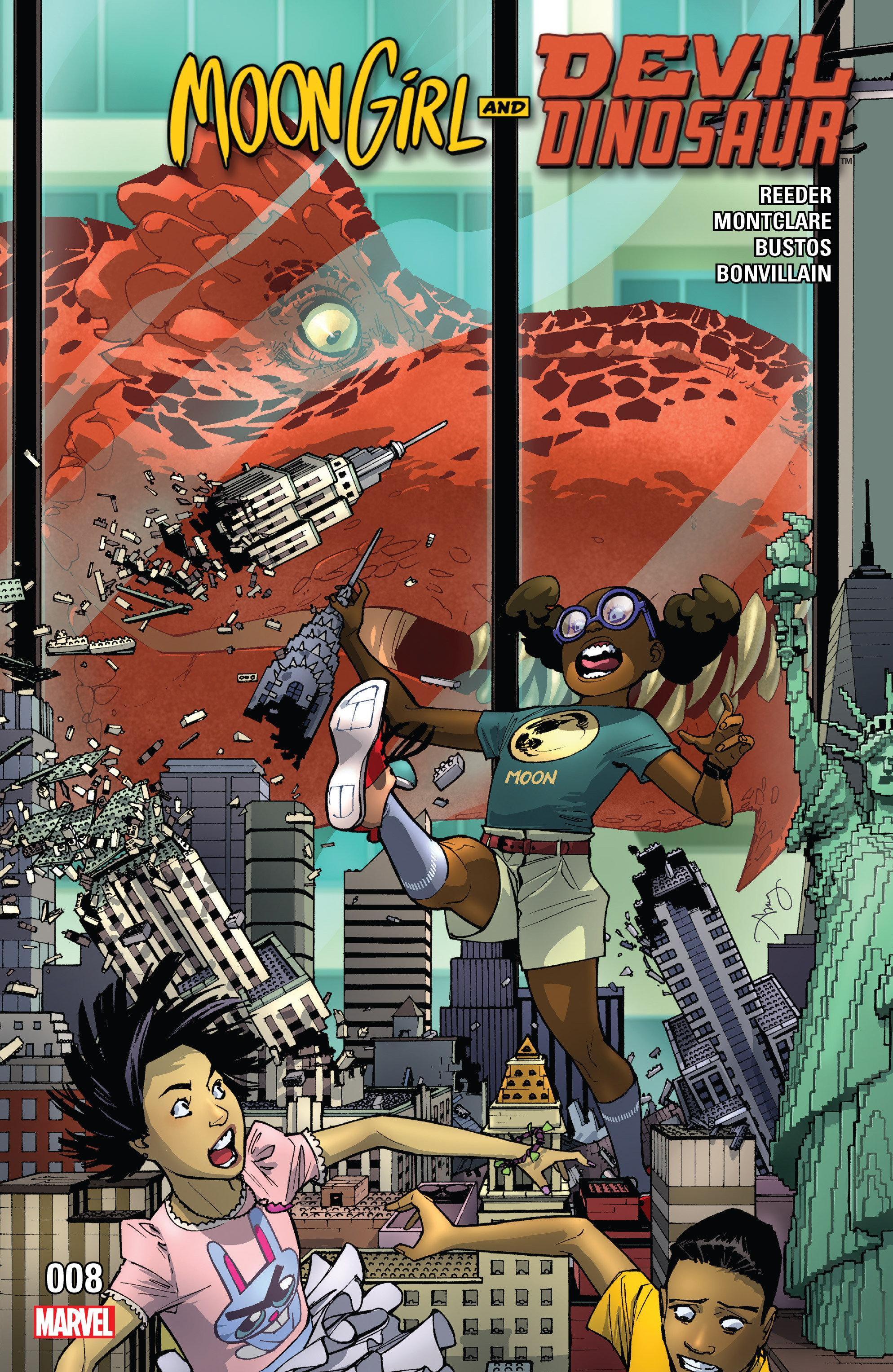 Moon Girl And Devil Dinosaur issue 8 - Page 1