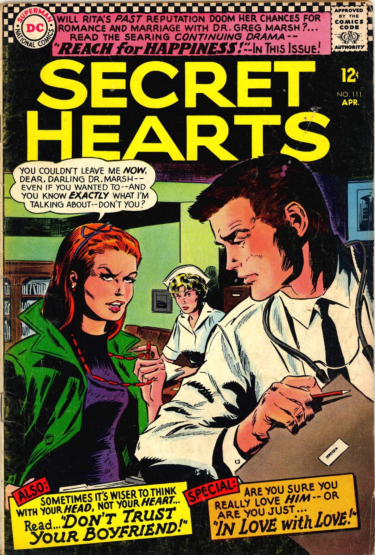 Read online Secret Hearts comic -  Issue #111 - 1