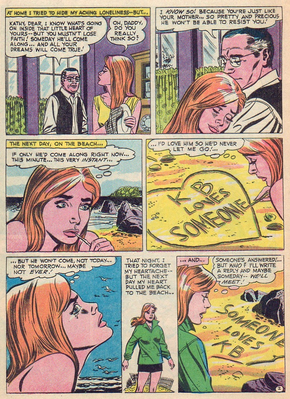 Read online Secret Hearts comic -  Issue #124 - 8