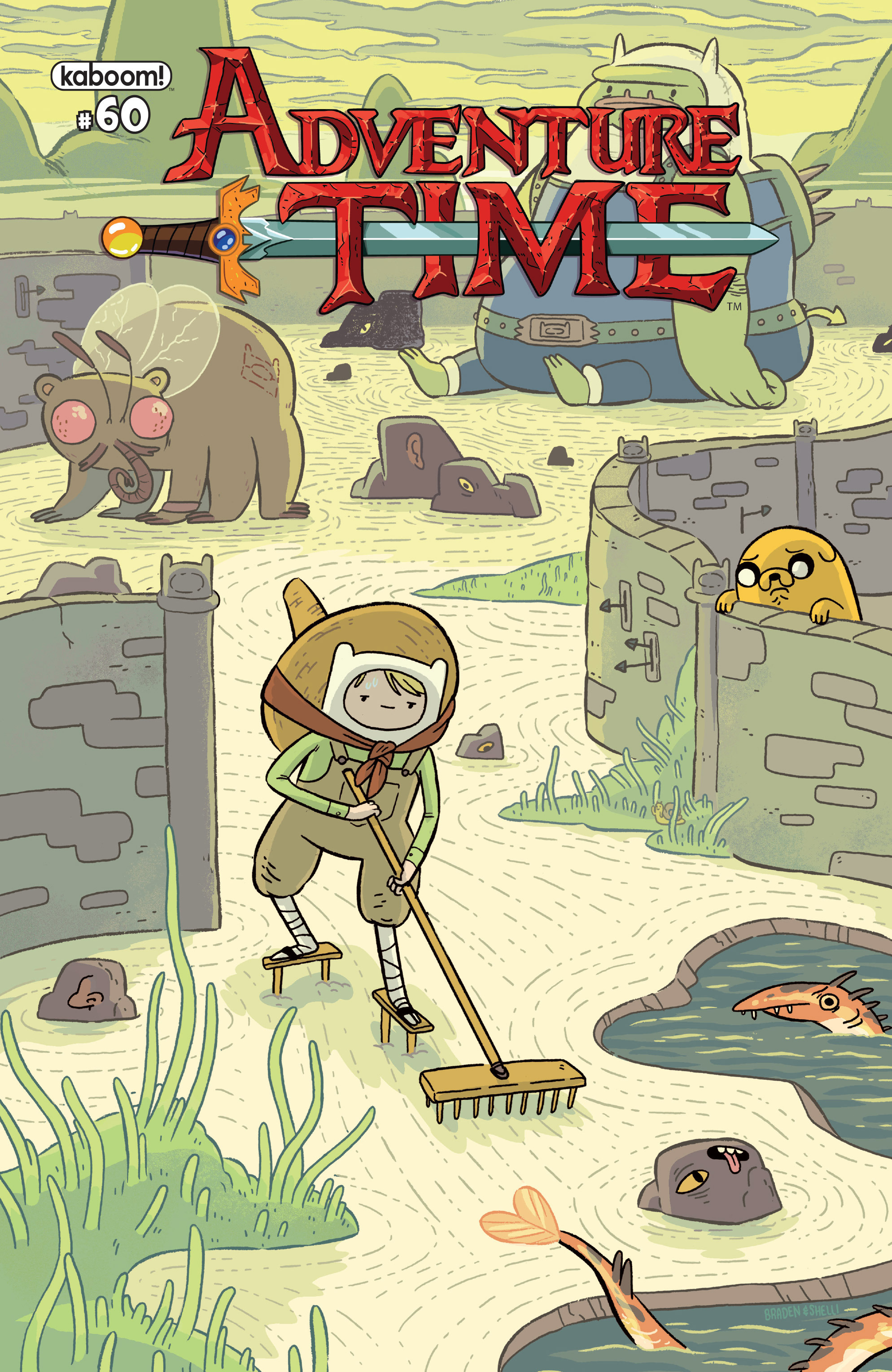 Adventure Time 60 Page 1