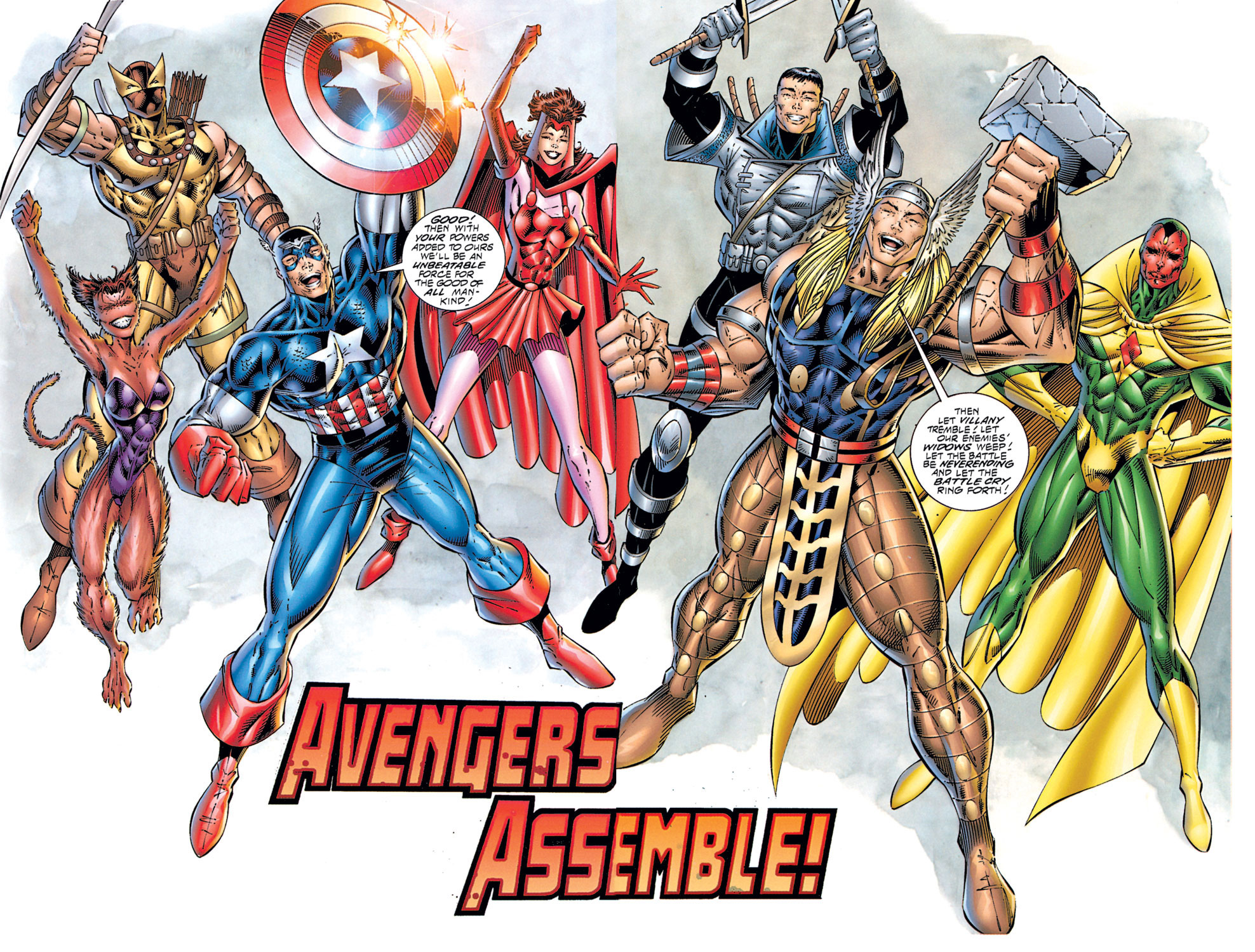 Read online Avengers (1996) comic -  Issue #1 - 32