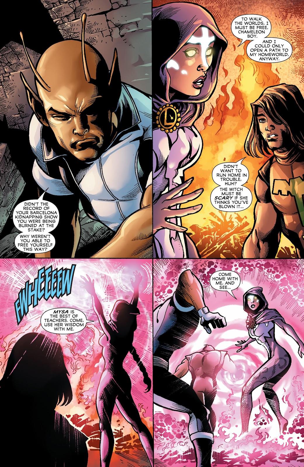 Legion of Super-Heroes (2011) Issue #18 #19 - English 9