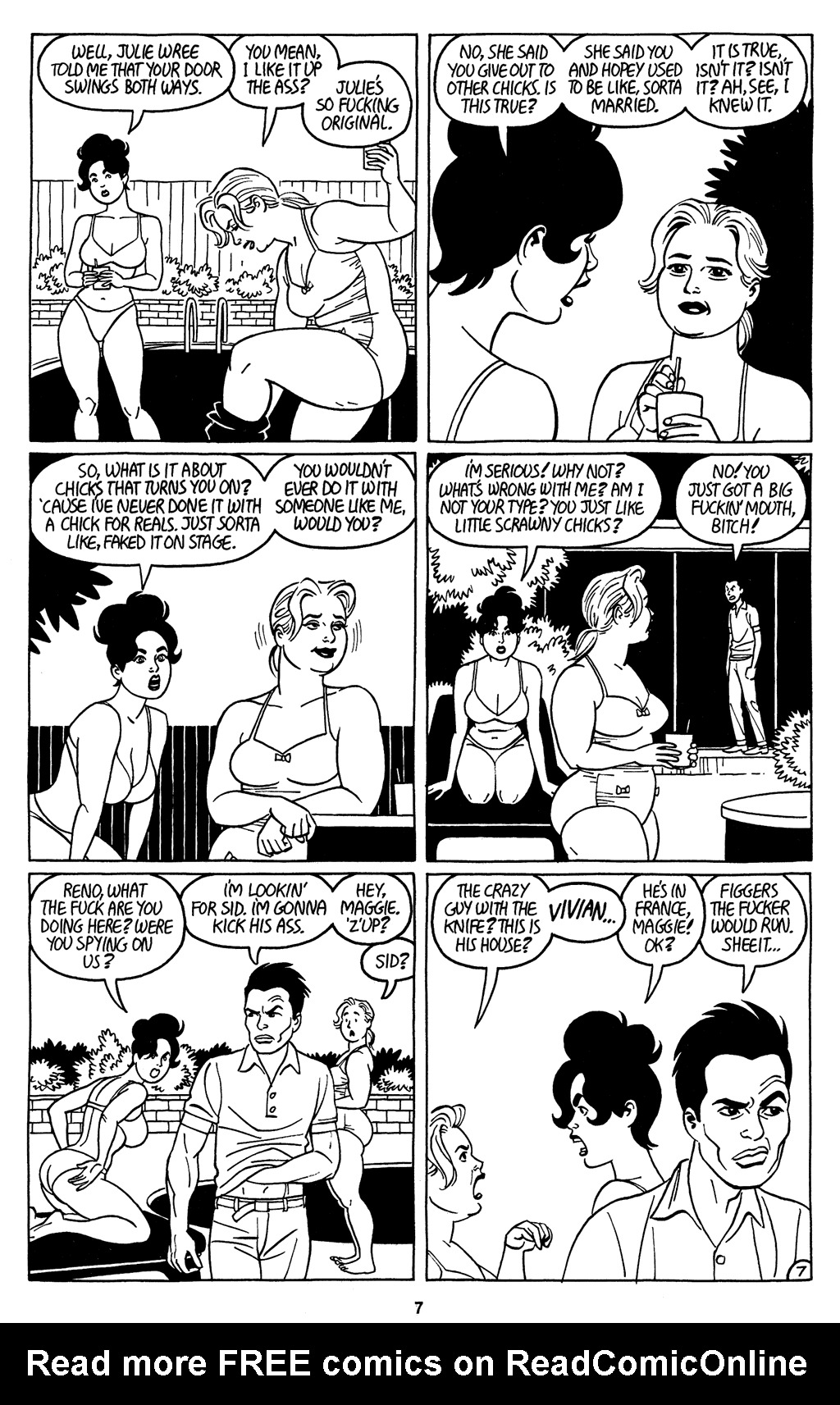 Read online Love and Rockets (2001) comic -  Issue #3 - 9