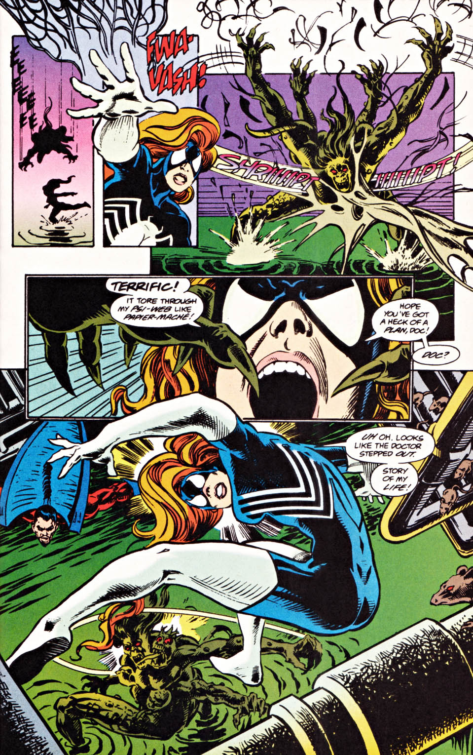 Read online Secret Defenders comic -  Issue #20 - 16