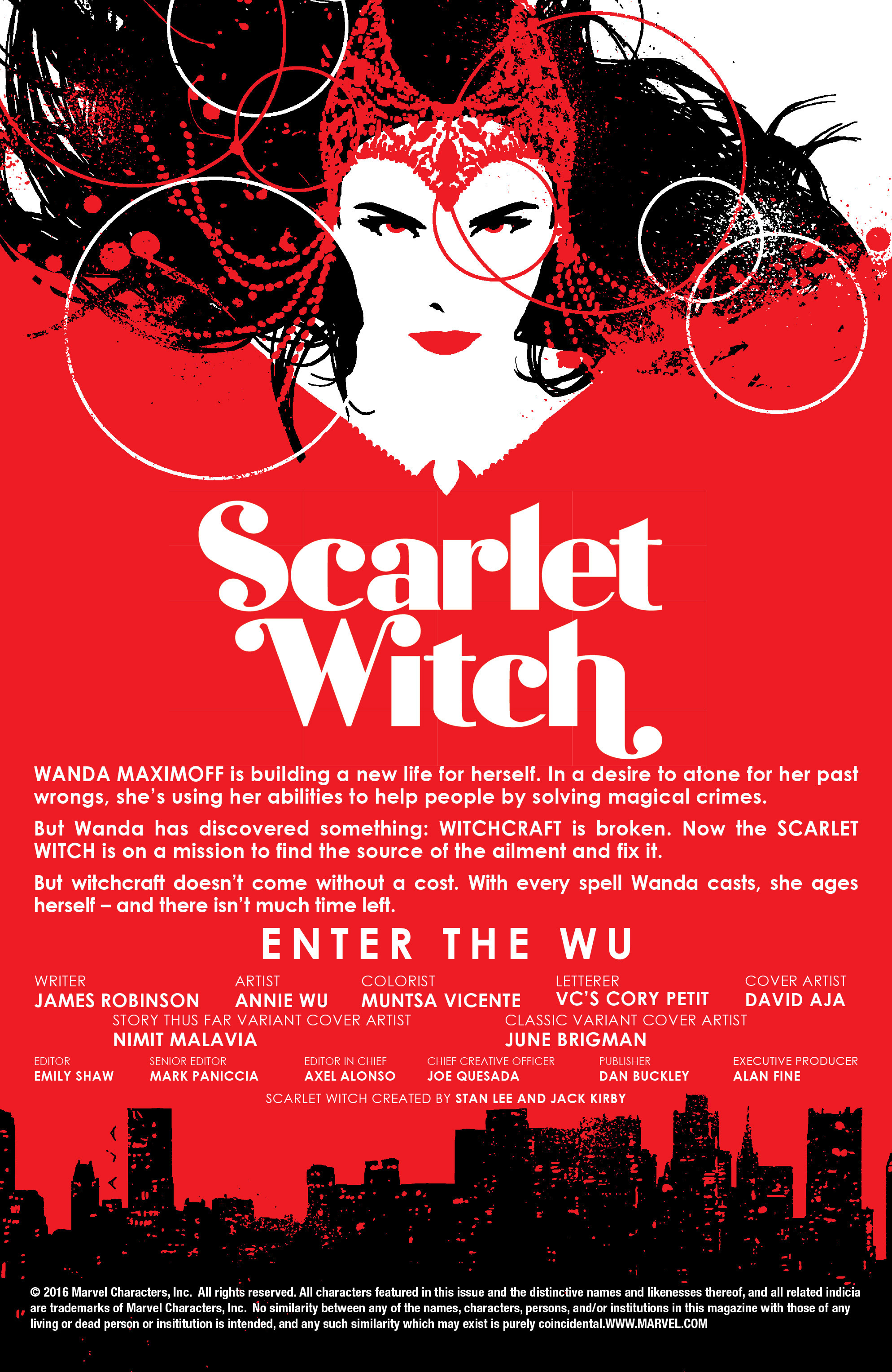 Read online Scarlet Witch (2016) comic -  Issue #7 - 5
