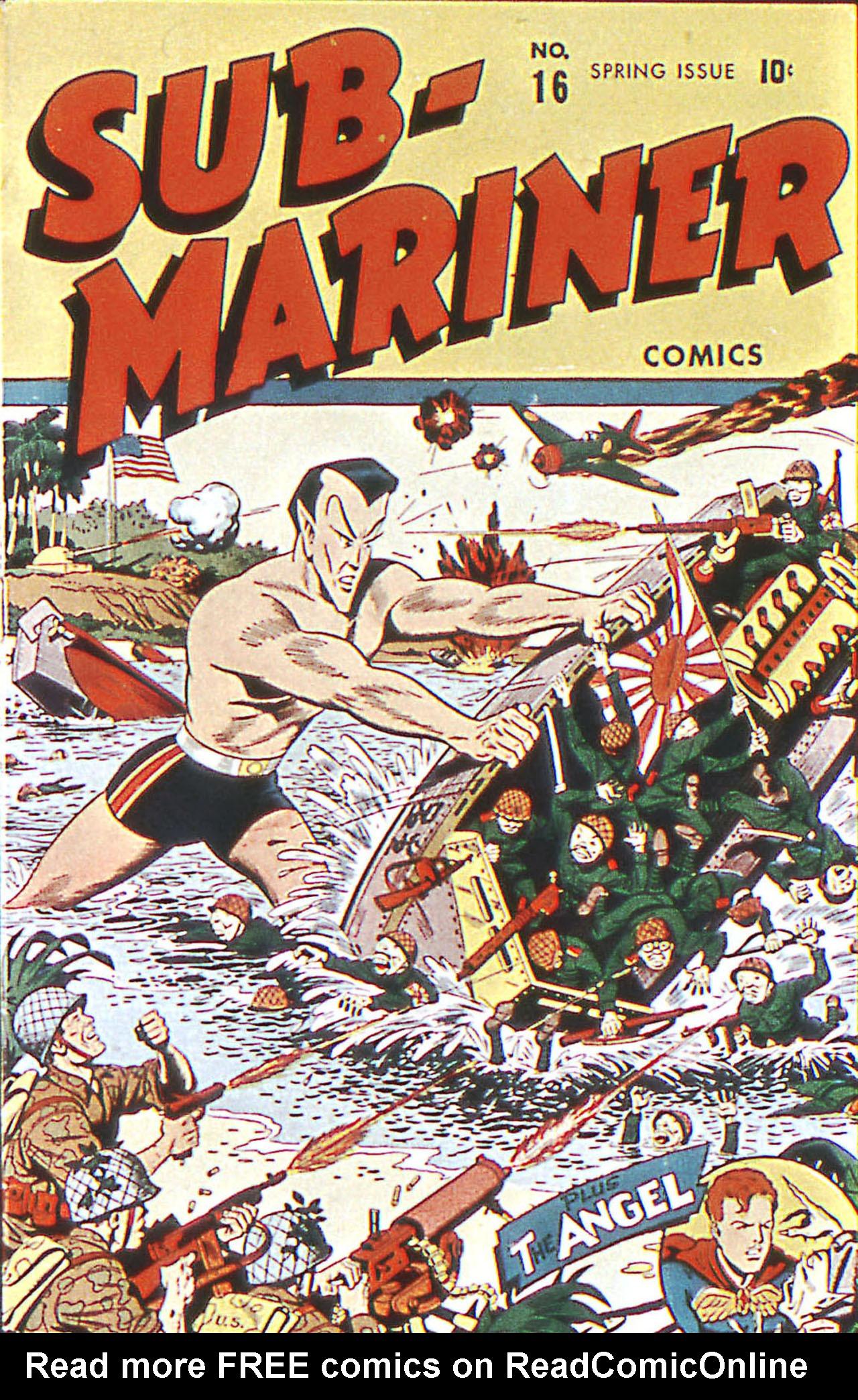 Sub-Mariner Comics 16 Page 1