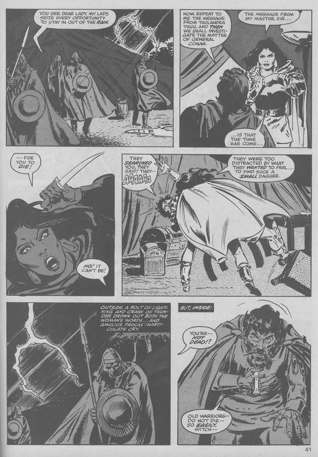 The Savage Sword Of Conan Issue #50 #51 - English 41