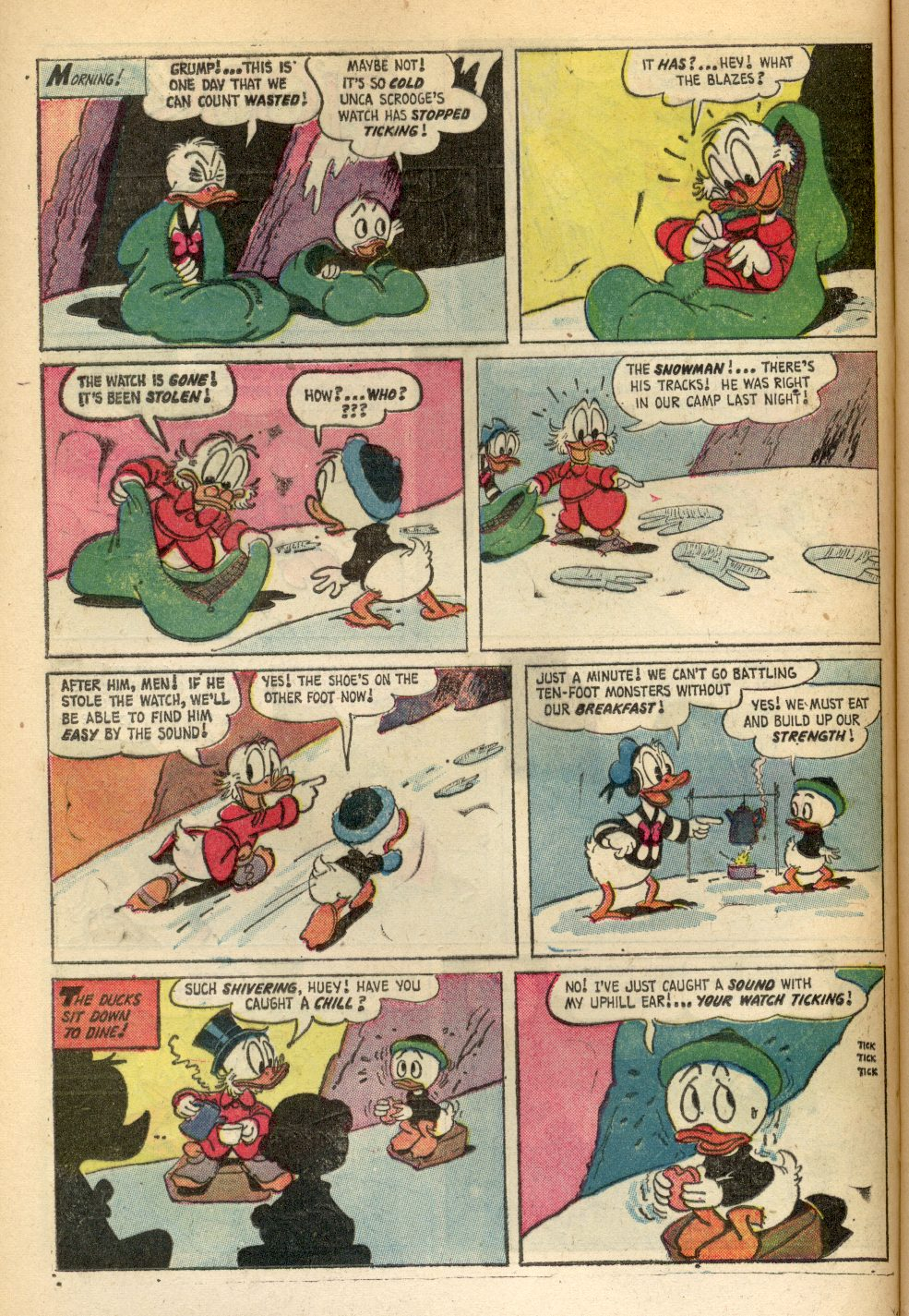 Uncle Scrooge (1953) Issue #84 #84 - English 12