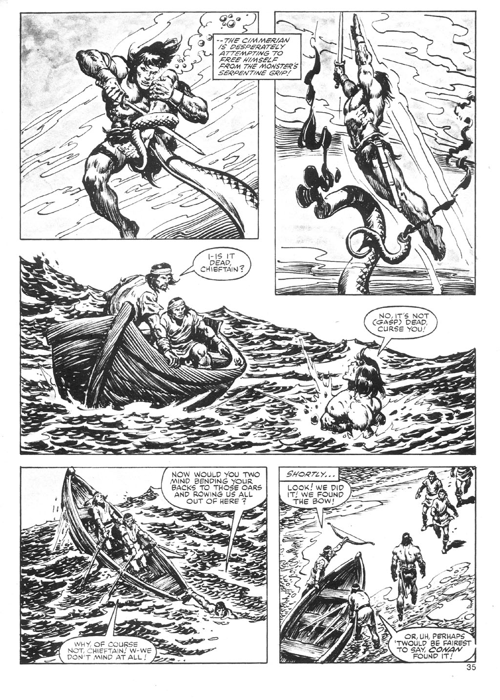 The Savage Sword Of Conan Issue #87 #88 - English 35