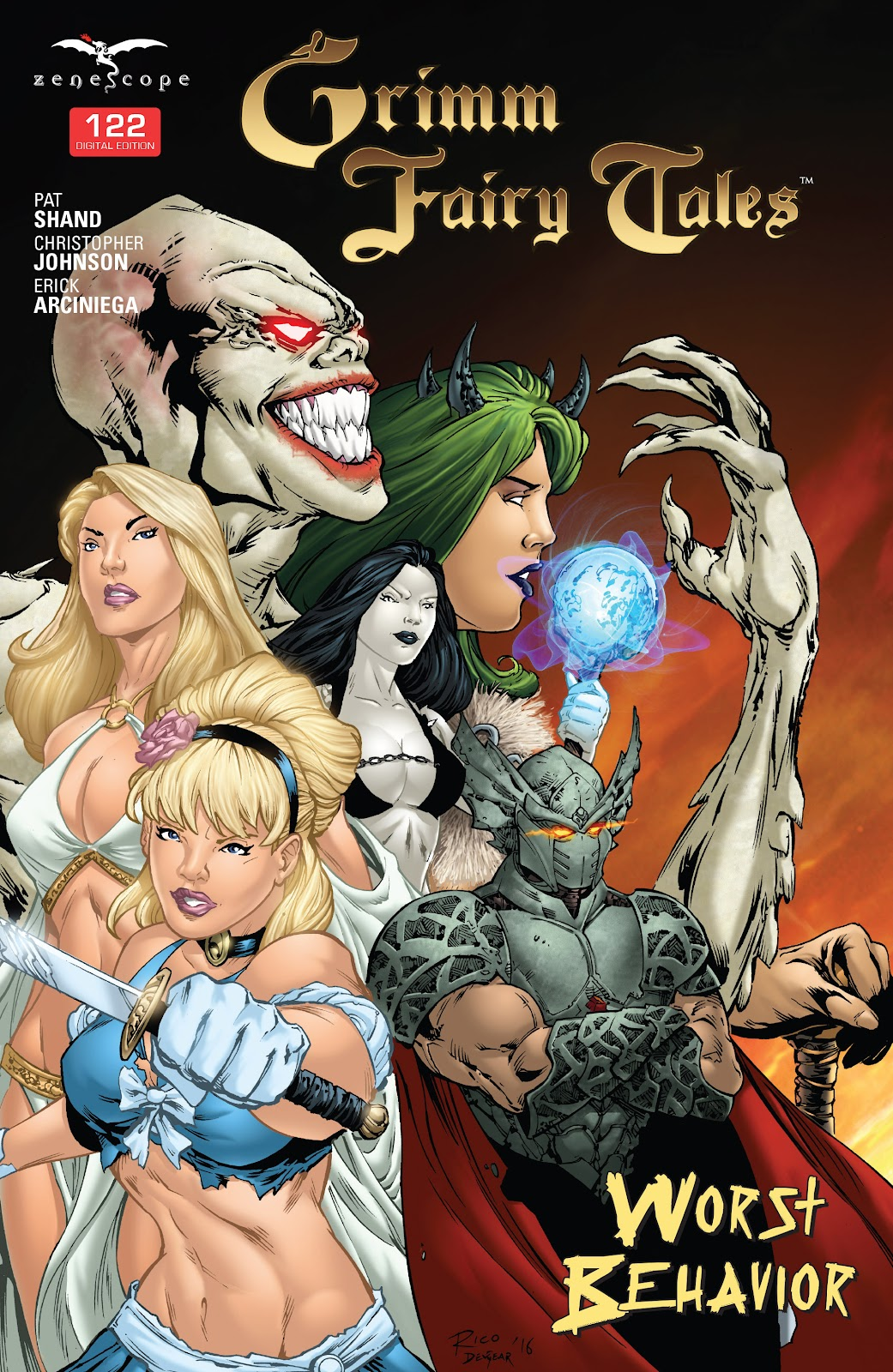 Grimm Fairy Tales (2005) Issue #122 #125 - English 1