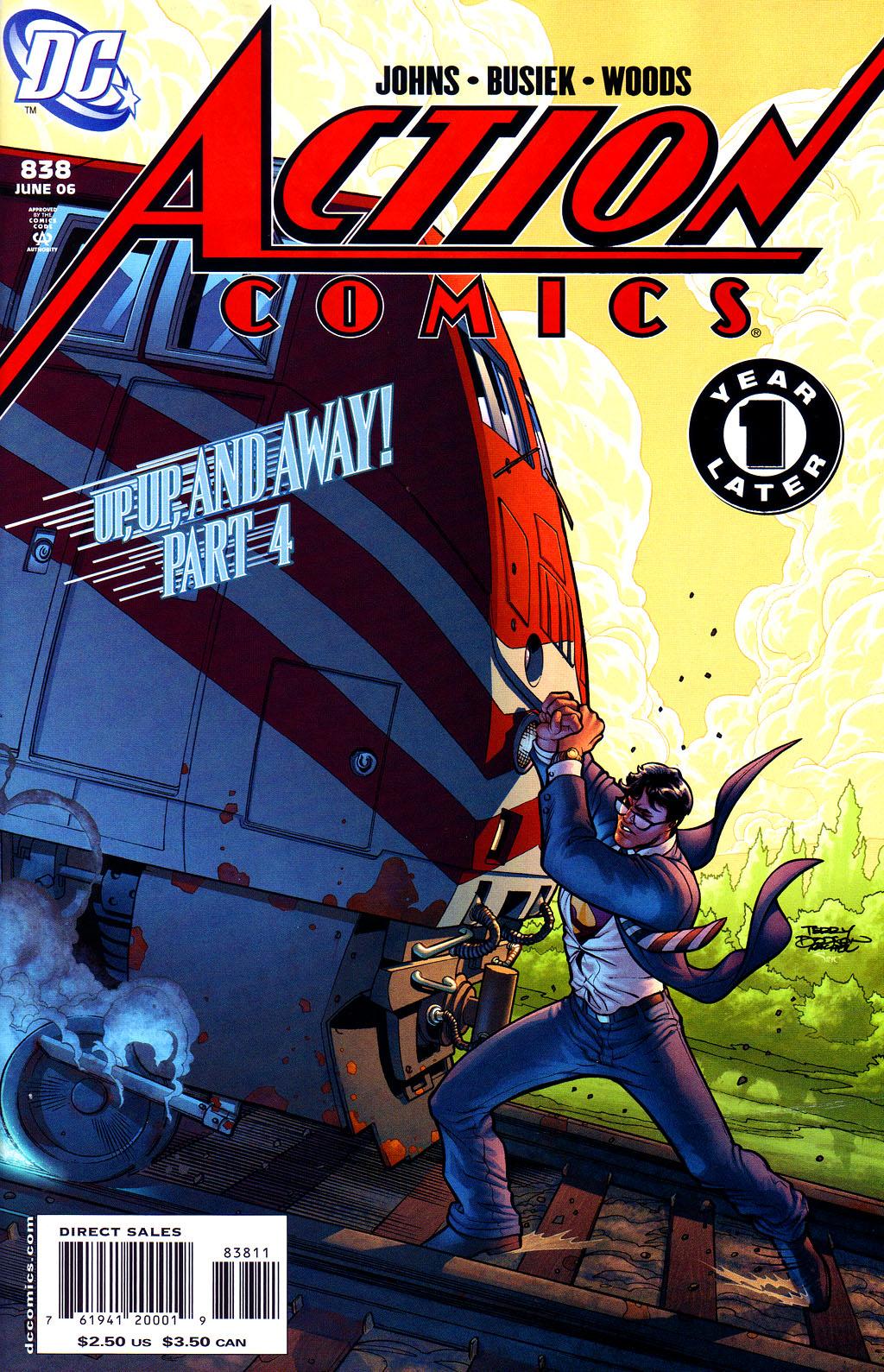 Action Comics (1938) 838 Page 1