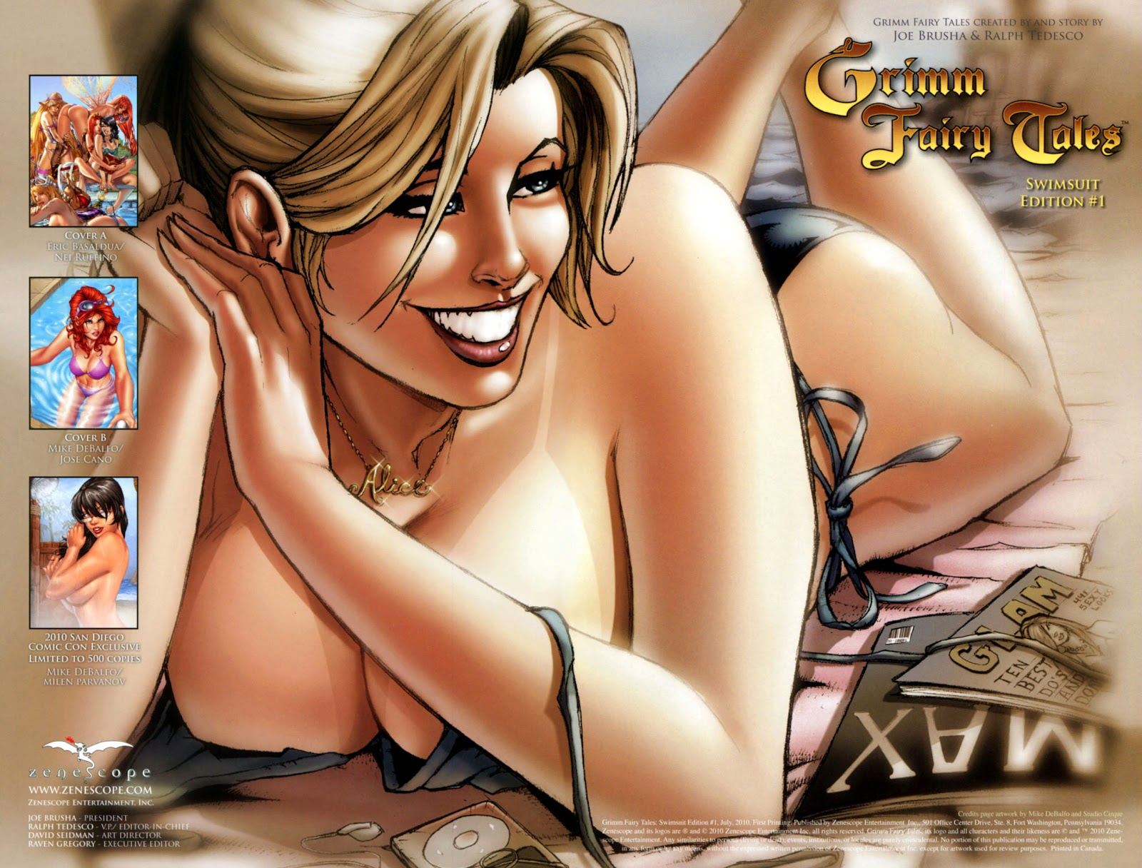 Grimm Fairy Tales: Swimsuit Edition Full #1 - English 3