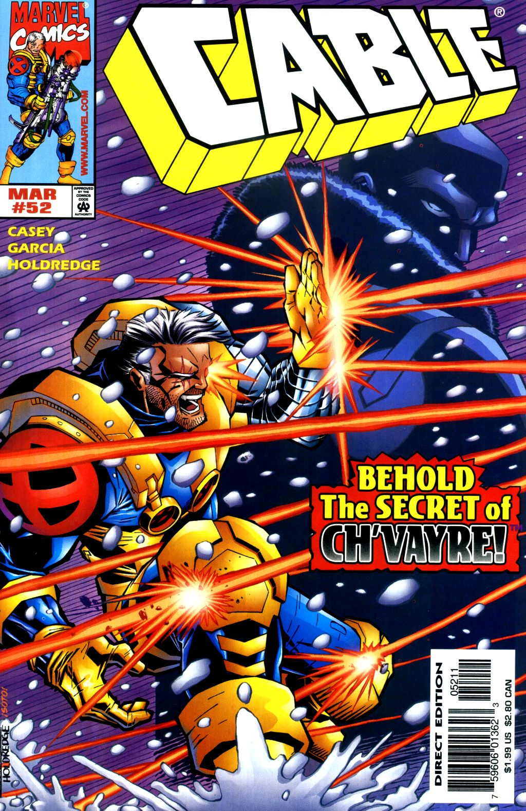 Cable (1993) 52 Page 1