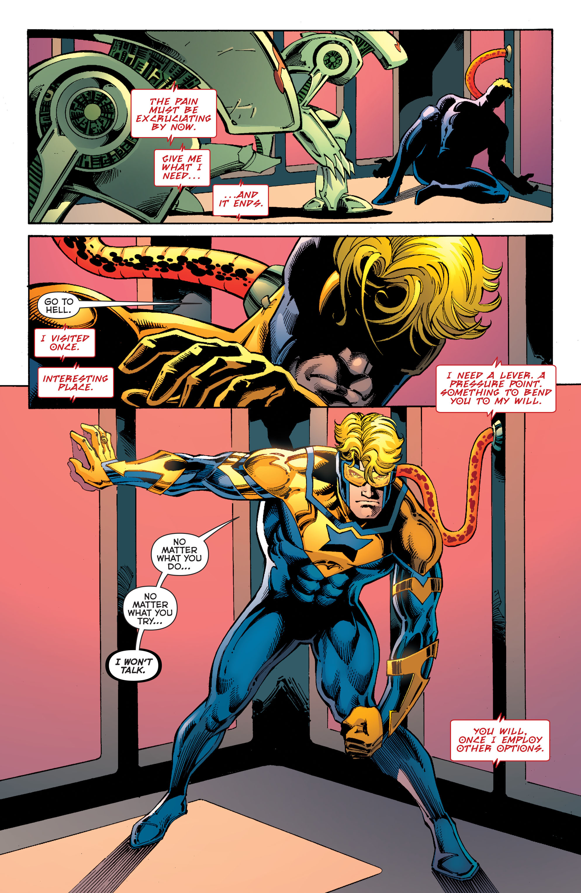 Read online Booster Gold: Futures End comic -  Issue # Full - 16